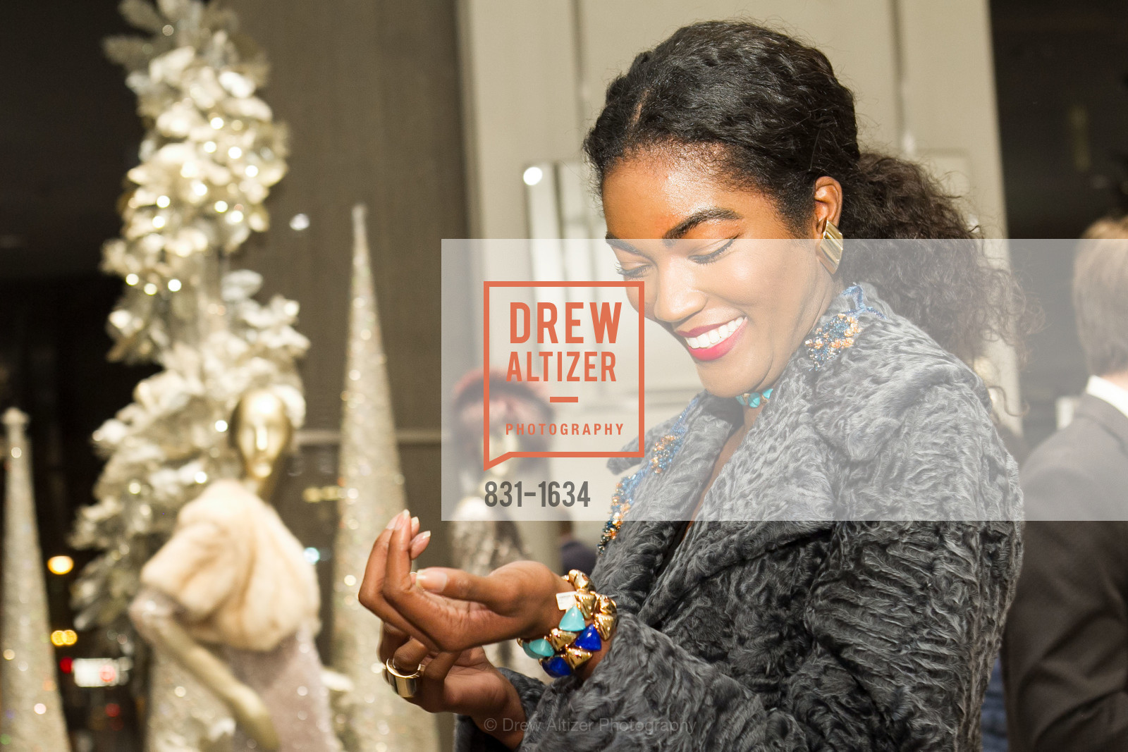 Sydney Reed, Saks Fifth Avenue Private Shopping Night, Saks Fifth Avenue. 384 Post St, December 7th, 2016