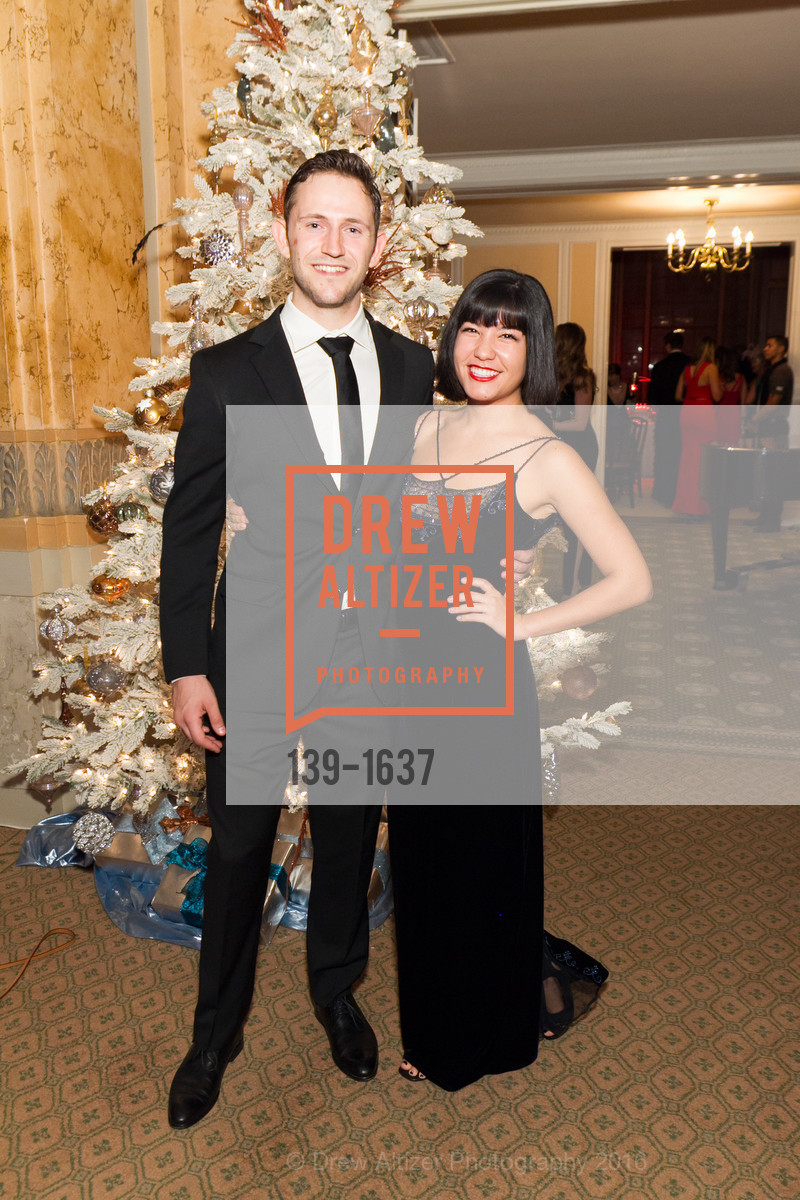 Sean Anderson, Carly Yoshida, Spinsters Holiday event, Metropolitan Club. 640 Sutter St, San Francisco, CA 94102, December 10th, 2016