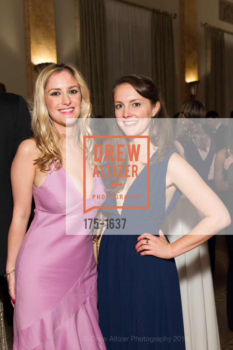 Elle Emhof, Eliza Coogan, Spinsters Holiday event, Metropolitan Club. 640 Sutter St, San Francisco, CA 94102, December 10th, 2016