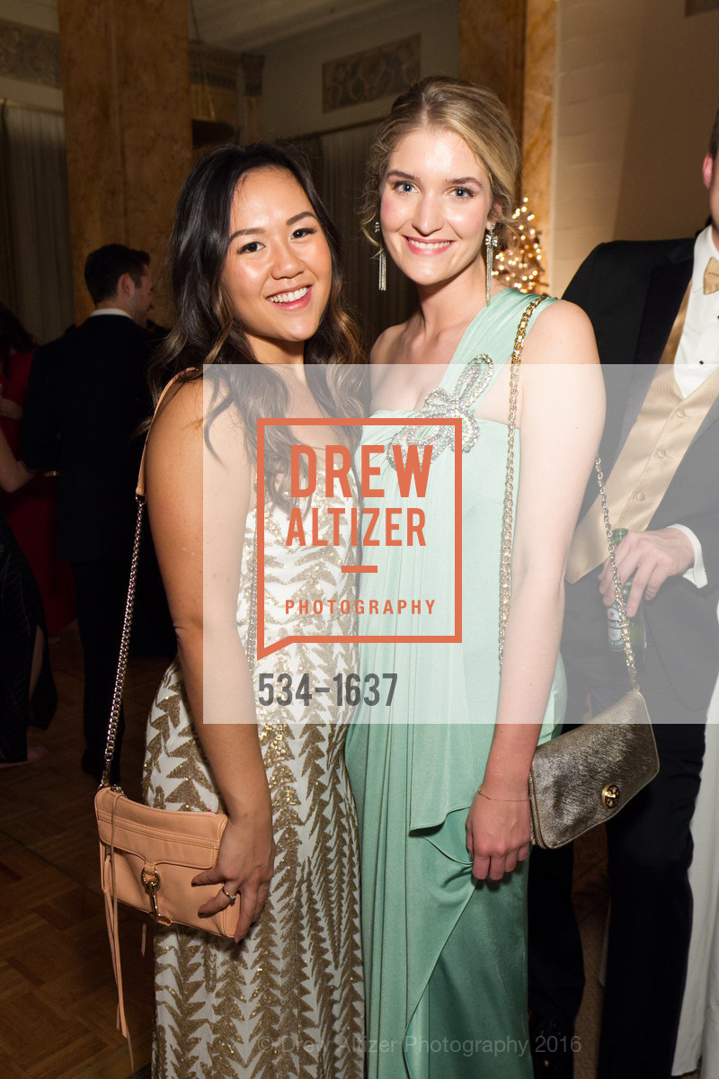 Erica Lee, Paige Gilbreath, Spinsters Holiday event, Metropolitan Club. 640 Sutter St, San Francisco, CA 94102, December 10th, 2016