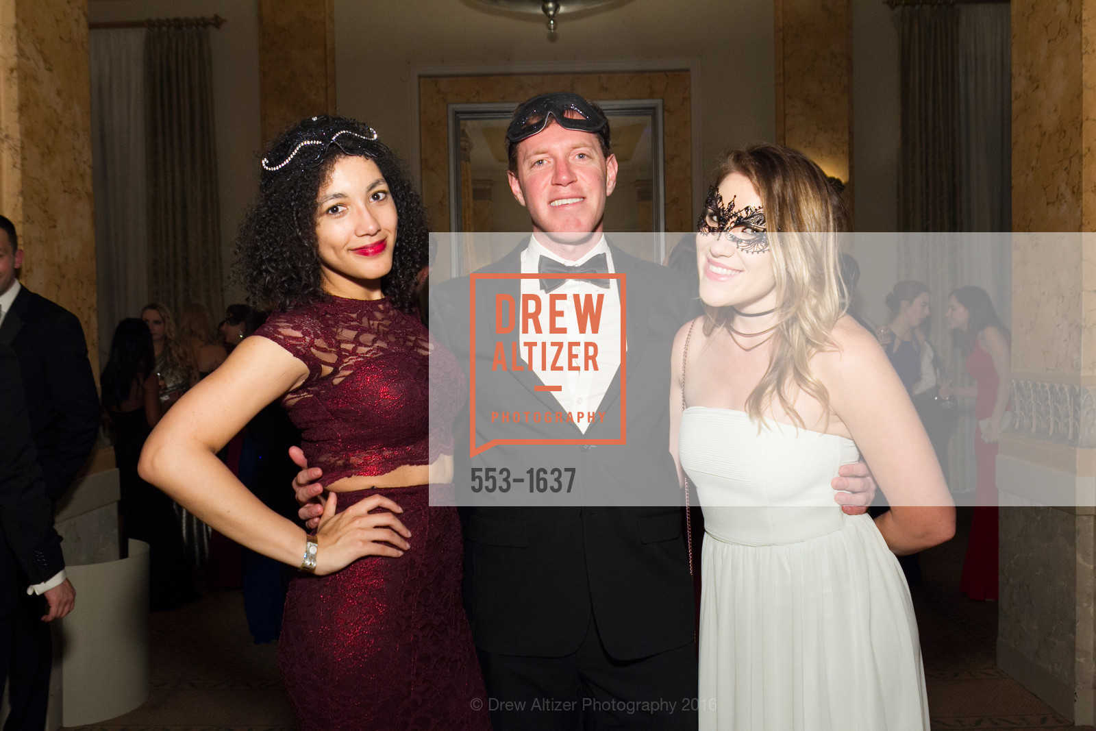 Jasmine Frazier, Ben Follansbee, Ellyn Gray, Spinsters Holiday event, Metropolitan Club. 640 Sutter St, San Francisco, CA 94102, December 10th, 2016