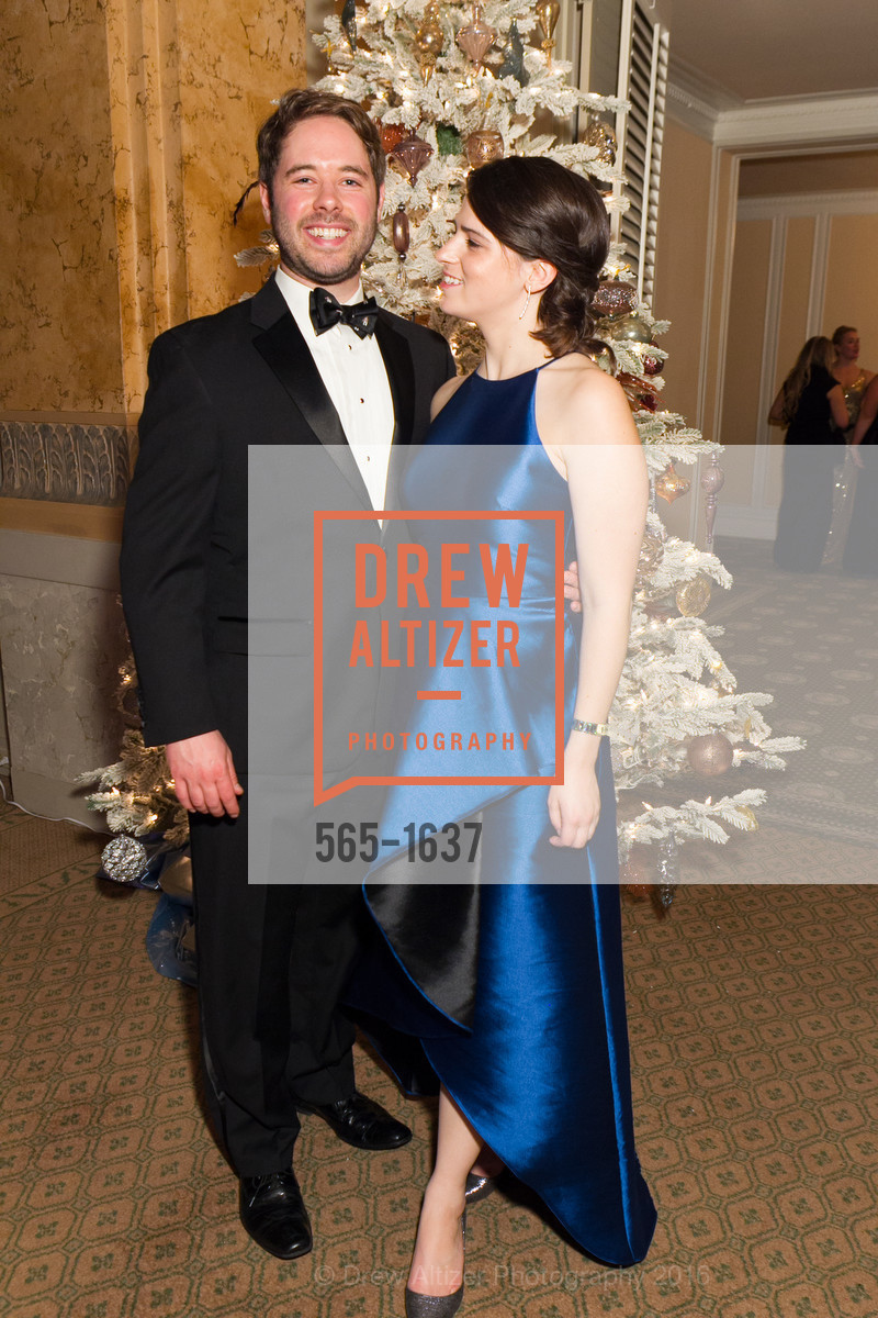 Dave Collins, Bailey Douglass, Spinsters Holiday event, Metropolitan Club. 640 Sutter St, San Francisco, CA 94102, December 10th, 2016