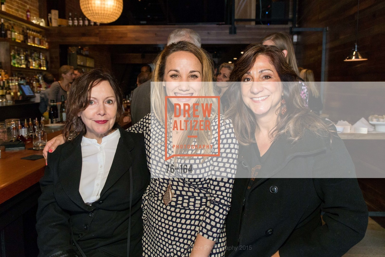 Bonnie O'neill, Ashley Guillory, Karen Baba, Forgery Bar Opening Celebration, Forgery Bar. 152 Mission St, June 14th, 2015,Drew Altizer, Drew Altizer Photography, full-service agency, private events, San Francisco photographer, photographer california