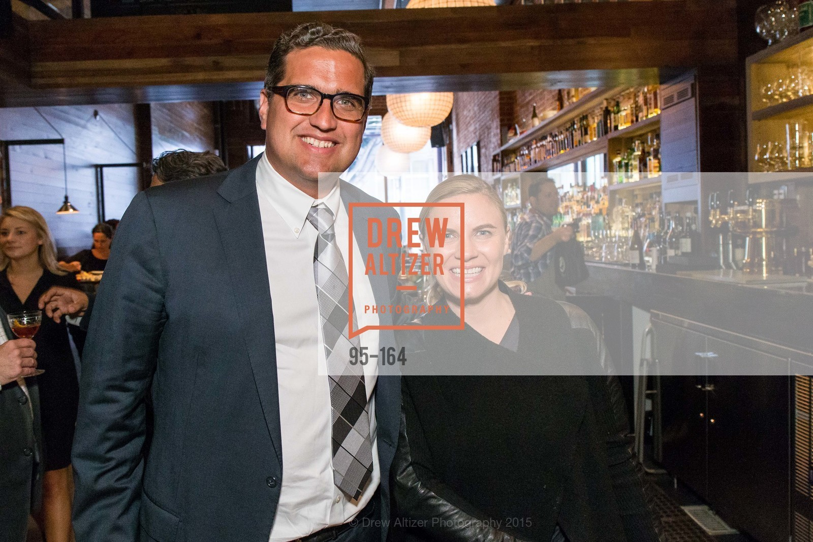 Peter Stern, Mackenzie Ward, Forgery Bar Opening Celebration, Forgery Bar. 152 Mission St, June 14th, 2015,Drew Altizer, Drew Altizer Photography, full-service agency, private events, San Francisco photographer, photographer california