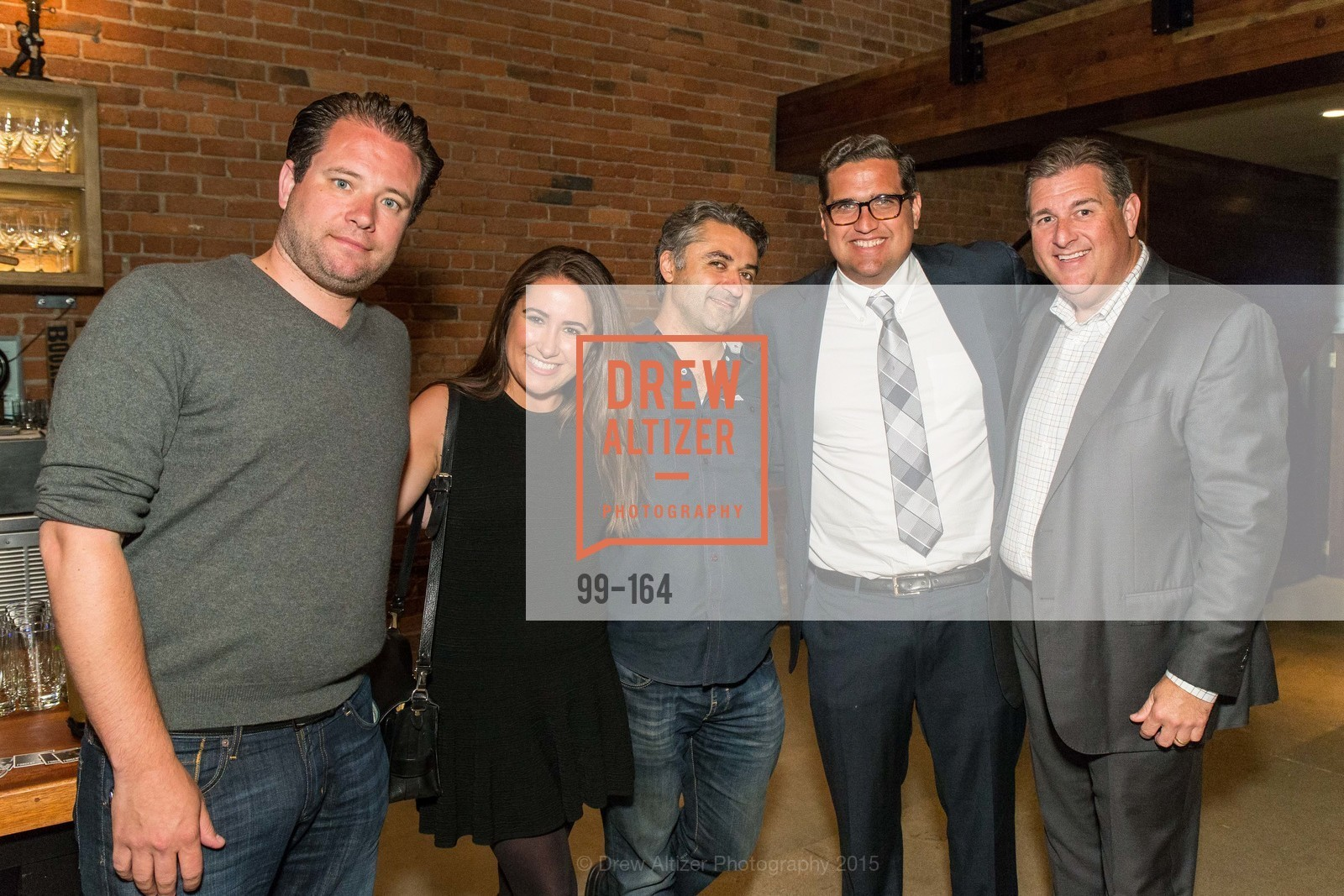 Jeremy Schere, Morgan Moore, Hooman Khalili, Peter Stern, Steven Revetria, Forgery Bar Opening Celebration, Forgery Bar. 152 Mission St, June 14th, 2015,Drew Altizer, Drew Altizer Photography, full-service agency, private events, San Francisco photographer, photographer california