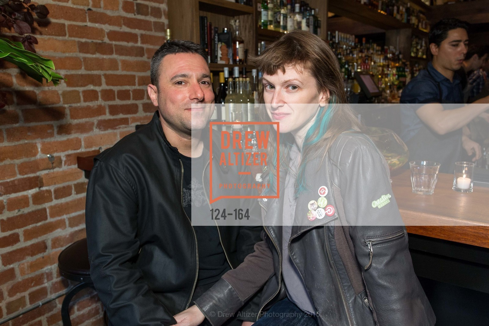 Chris Pittas, Christine Bawer, Forgery Bar Opening Celebration, Forgery Bar. 152 Mission St, June 14th, 2015