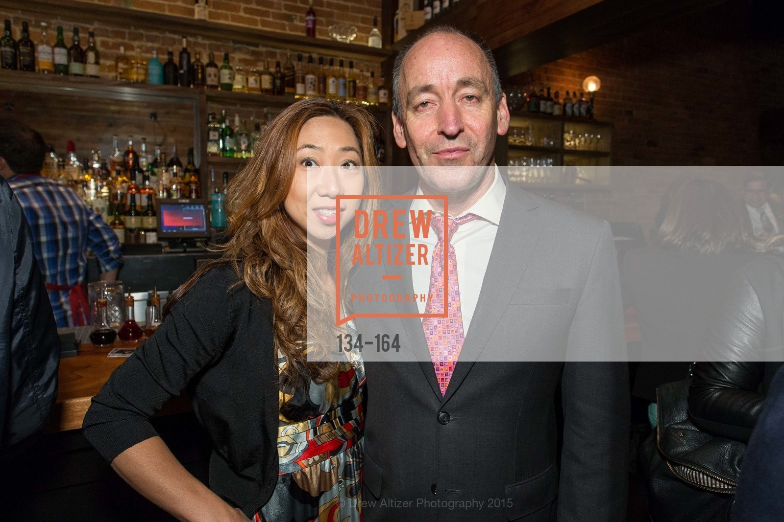 Fiona Chan, John Kirkpatrick, Forgery Bar Opening Celebration, Forgery Bar. 152 Mission St, June 14th, 2015,Drew Altizer, Drew Altizer Photography, full-service agency, private events, San Francisco photographer, photographer california