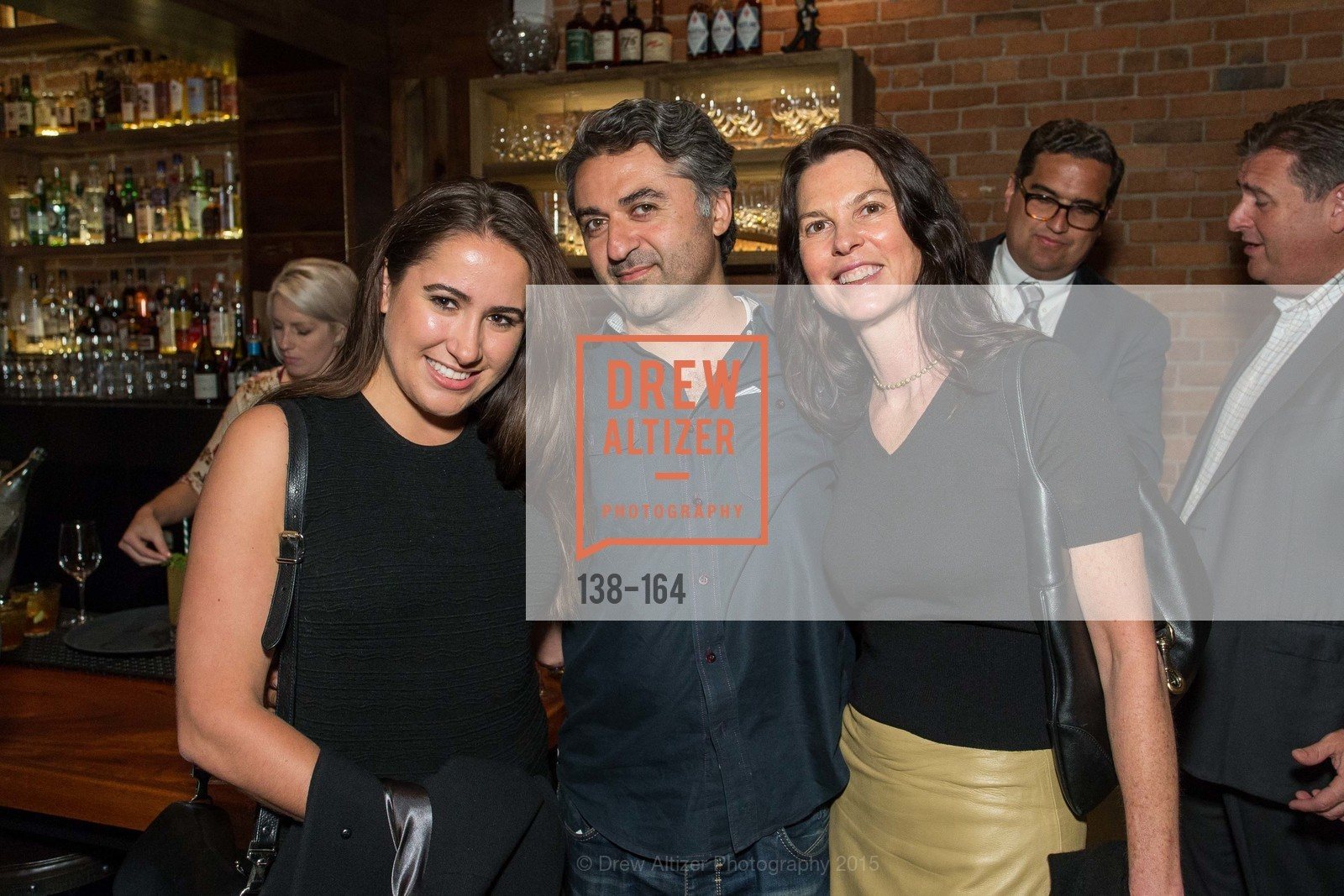 Morgan Moore, Hooman Khalili, Dorka Keehn, Forgery Bar Opening Celebration, Forgery Bar. 152 Mission St, June 14th, 2015,Drew Altizer, Drew Altizer Photography, full-service agency, private events, San Francisco photographer, photographer california