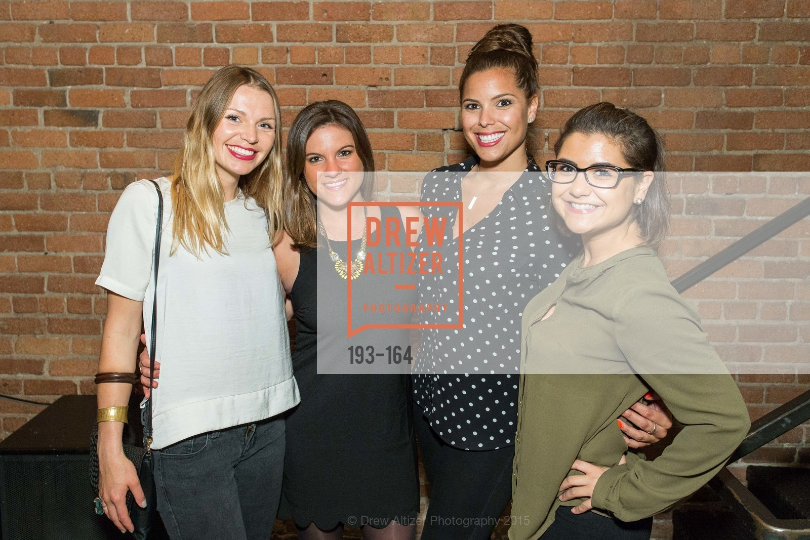 Carina Hessmer, Julie Admassu, Bree Brooks, Roxanne Rodriguez, Forgery Bar Opening Celebration, Forgery Bar. 152 Mission St, June 14th, 2015