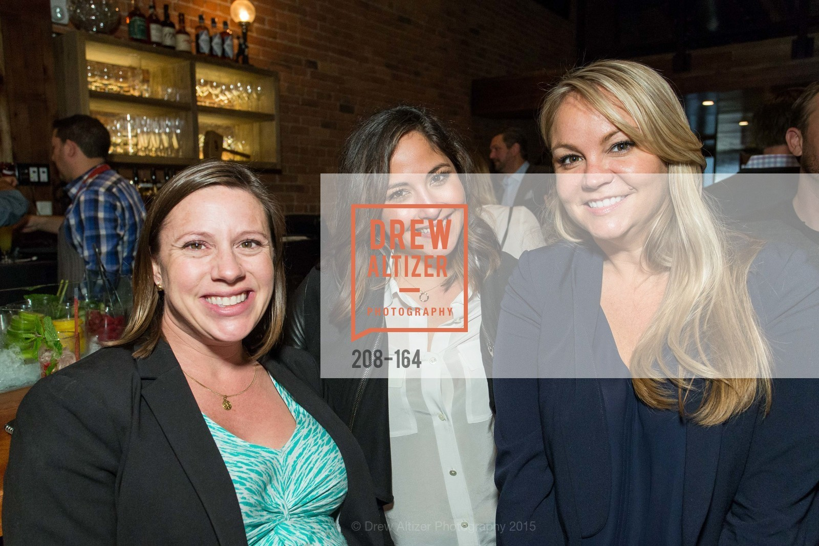 Nicole O'neill, Alexis Doctolero, Erin Egleston, Forgery Bar Opening Celebration, Forgery Bar. 152 Mission St, June 14th, 2015,Drew Altizer, Drew Altizer Photography, full-service agency, private events, San Francisco photographer, photographer california