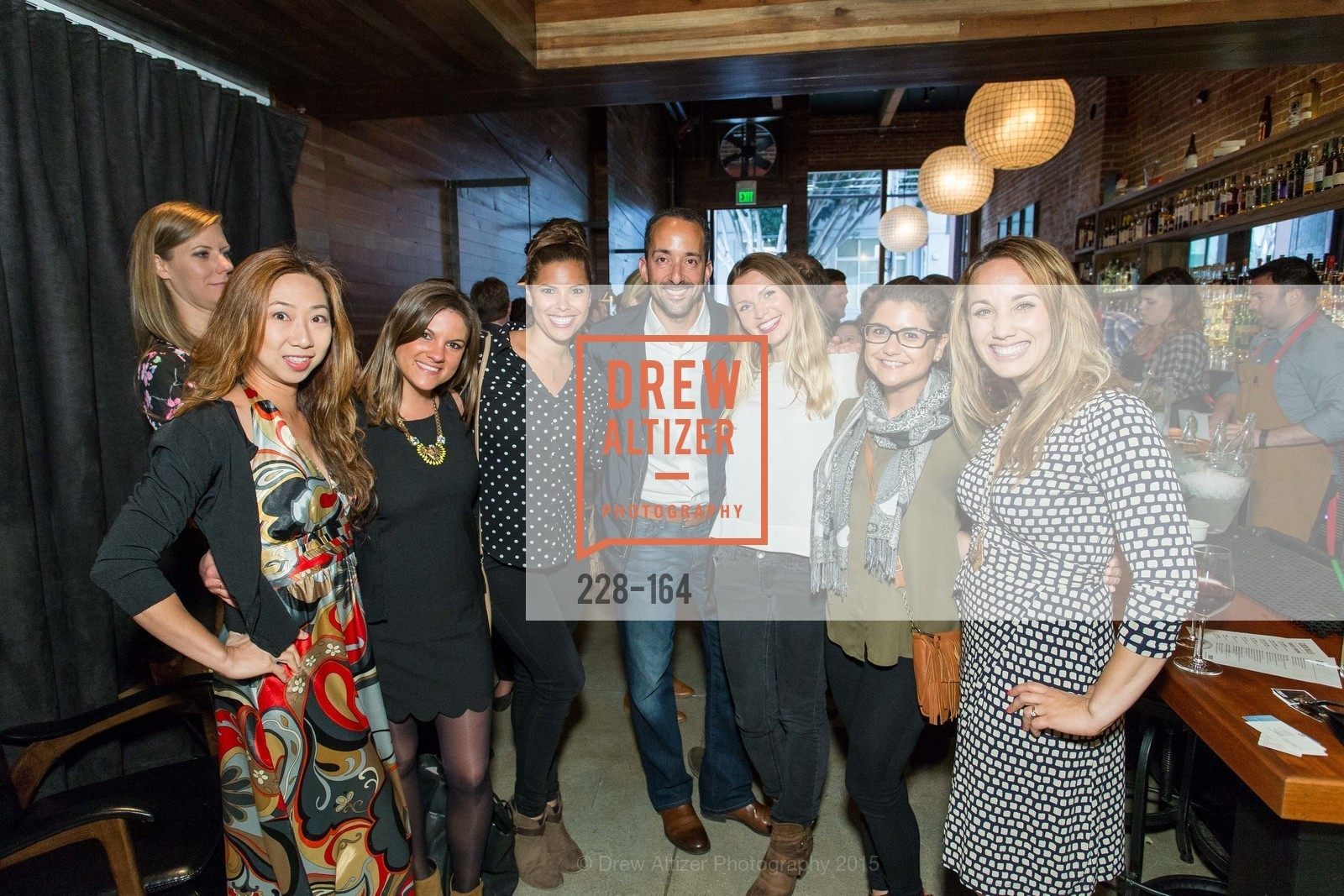 Fiona Chan, Julie Admassu, Bree Brooks, Gustavo Fernandez, Carina Hessmer, Roxanne Rodriquez, Ashley Guillory, Forgery Bar Opening Celebration, Forgery Bar. 152 Mission St, June 14th, 2015,Drew Altizer, Drew Altizer Photography, full-service agency, private events, San Francisco photographer, photographer california