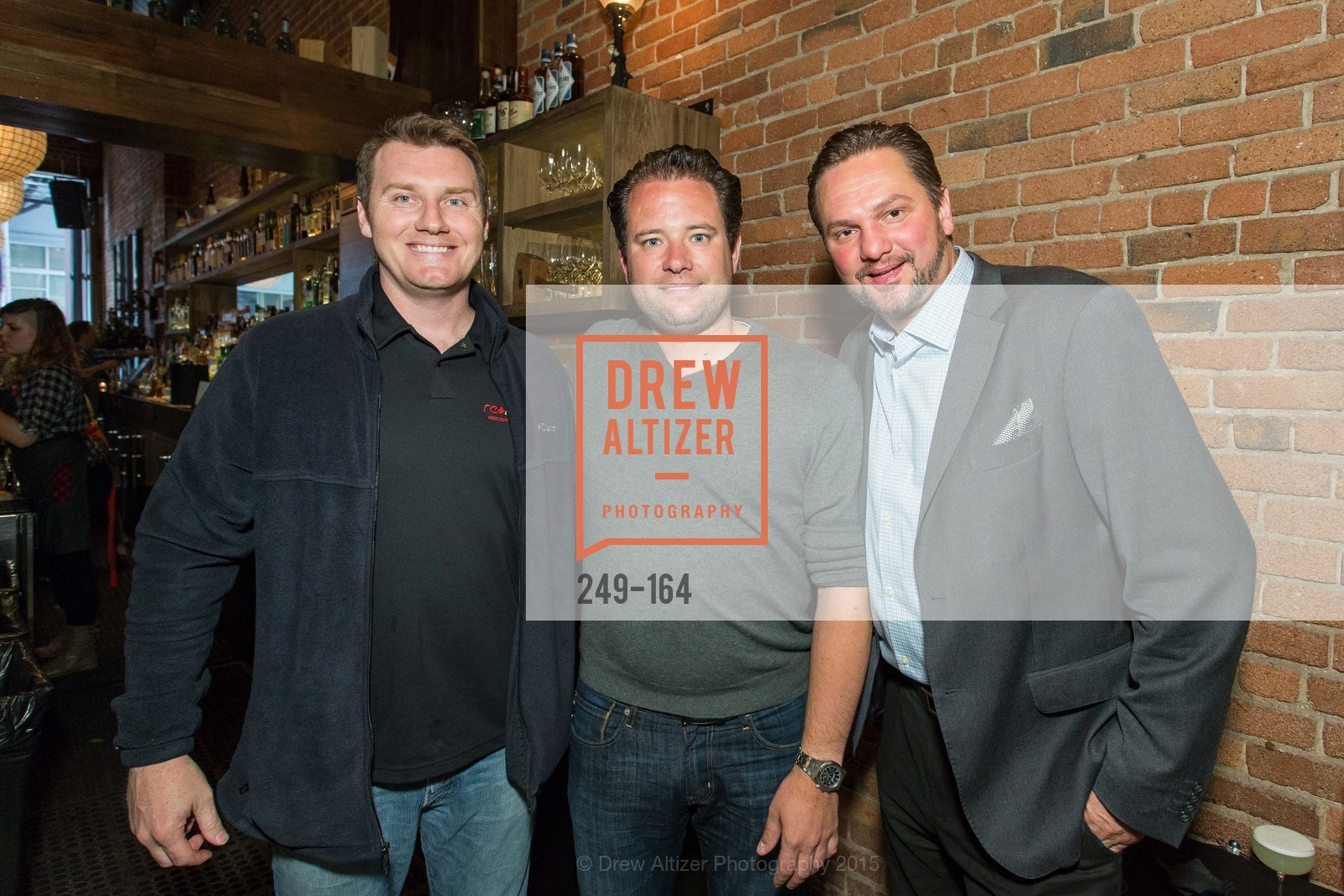 Charles Dethloff, Jeremy Scherer, Billy Franchey, Forgery Bar Opening Celebration, Forgery Bar. 152 Mission St, June 14th, 2015,Drew Altizer, Drew Altizer Photography, full-service agency, private events, San Francisco photographer, photographer california