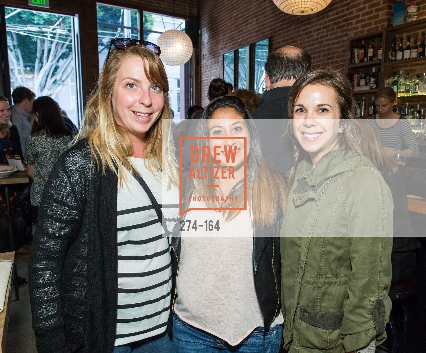 Jen Kraus, Alicia Carrillo, Jessica Cizek, Forgery Bar Opening Celebration, Forgery Bar. 152 Mission St, June 14th, 2015,Drew Altizer, Drew Altizer Photography, full-service agency, private events, San Francisco photographer, photographer california