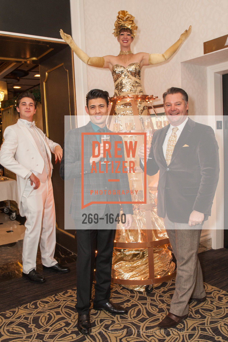 Alvaro Ibarra, Andreas Rippel, Gregg Lynn and Glenn Risso's Engagement Party, Farimont Hotel, Penthouse. San Francisco, California, December 7th, 2016