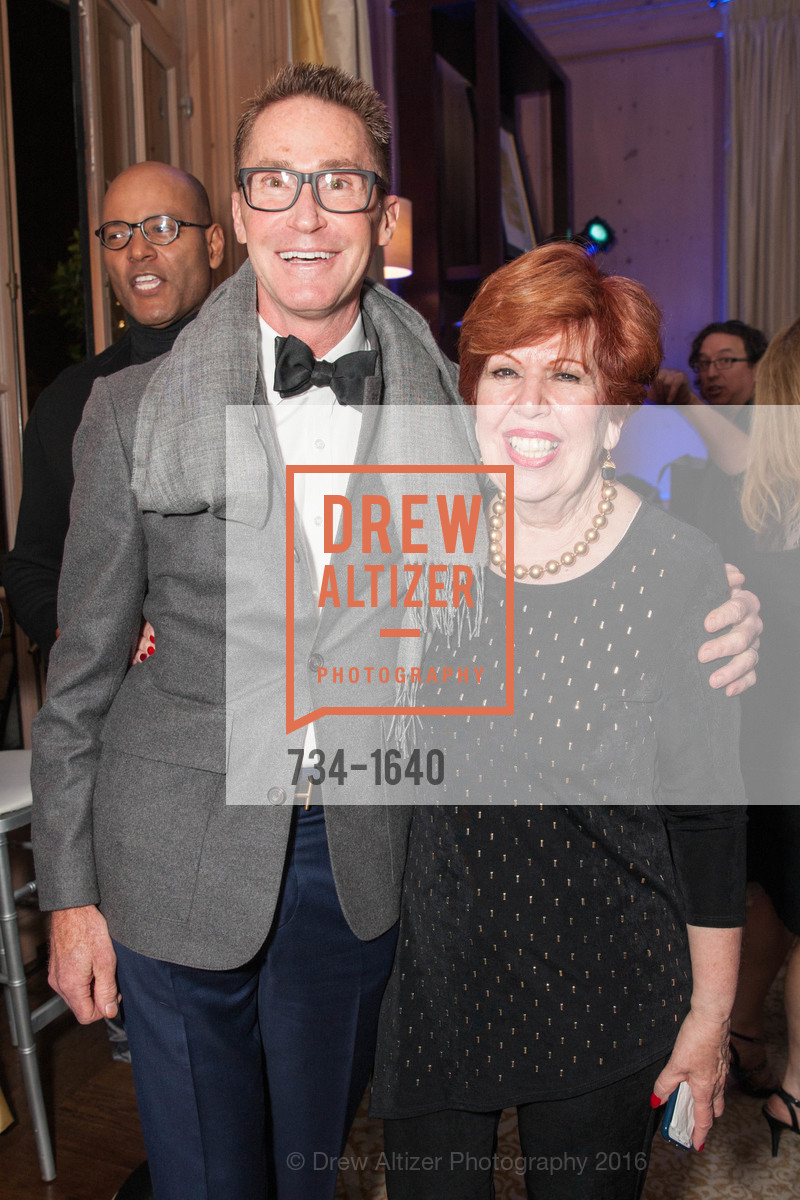 Elaine Schwartz, Gregg Lynn and Glenn Risso's Engagement Party, Farimont Hotel, Penthouse. San Francisco, California, December 7th, 2016