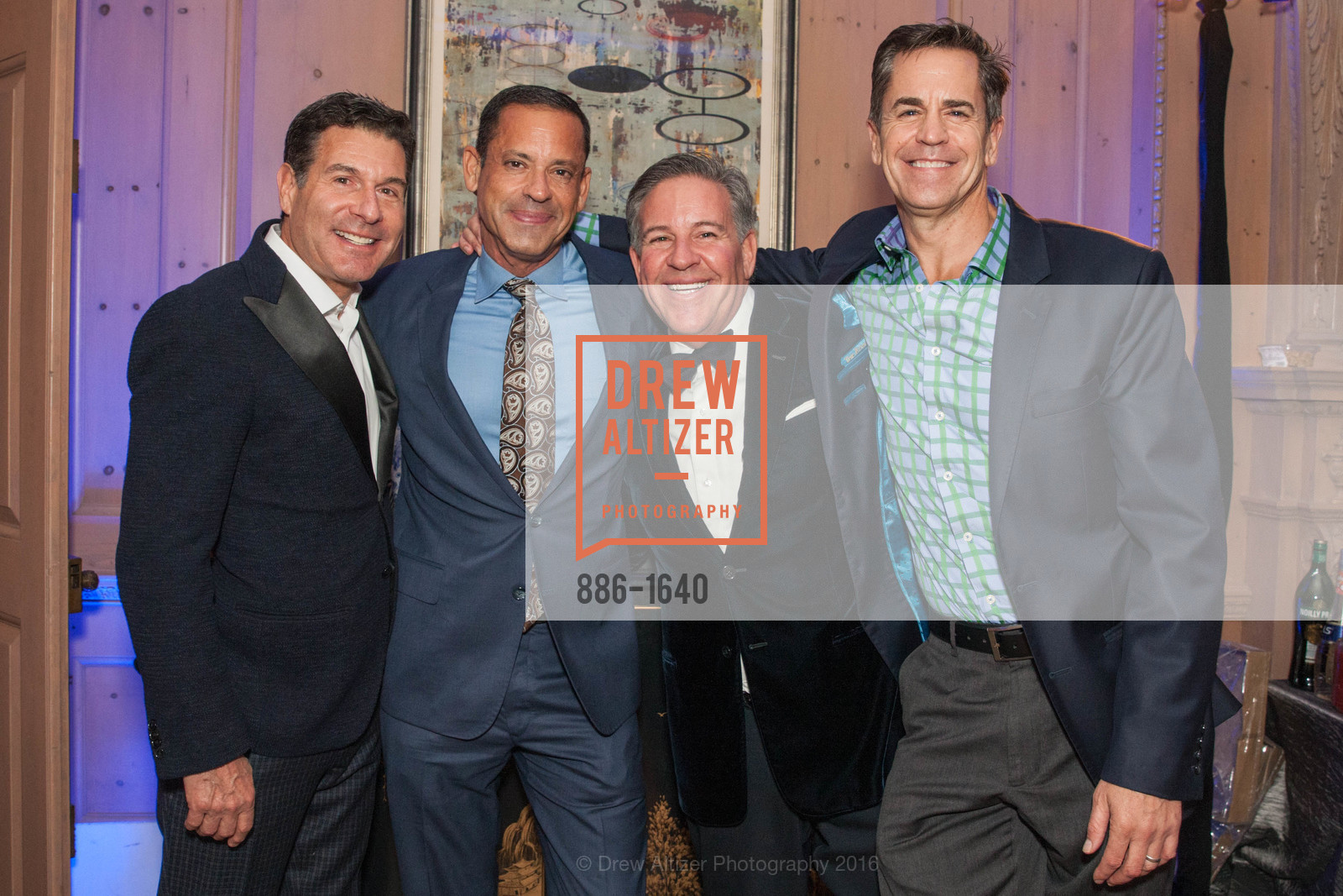 Glenn Risso, Gregg Lynn, Gregg Lynn and Glenn Risso's Engagement Party, Farimont Hotel, Penthouse. San Francisco, California, December 7th, 2016