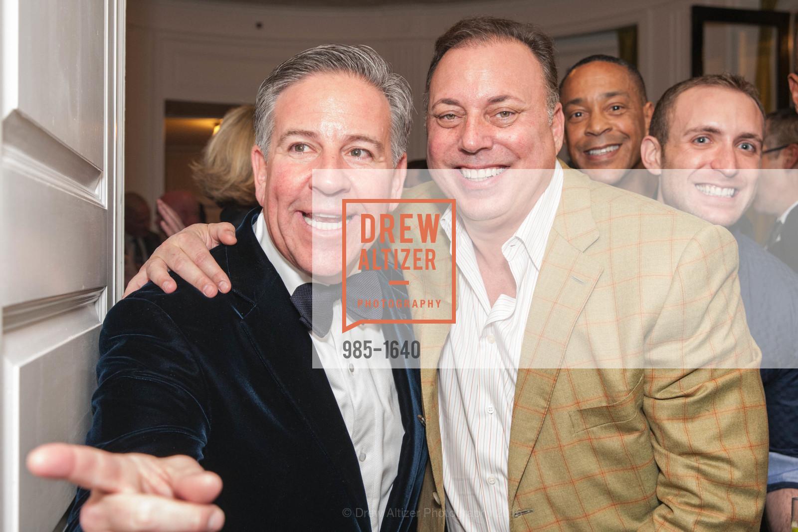Gregg Lynn, Gregg Lynn and Glenn Risso's Engagement Party, Farimont Hotel, Penthouse. San Francisco, California, December 7th, 2016