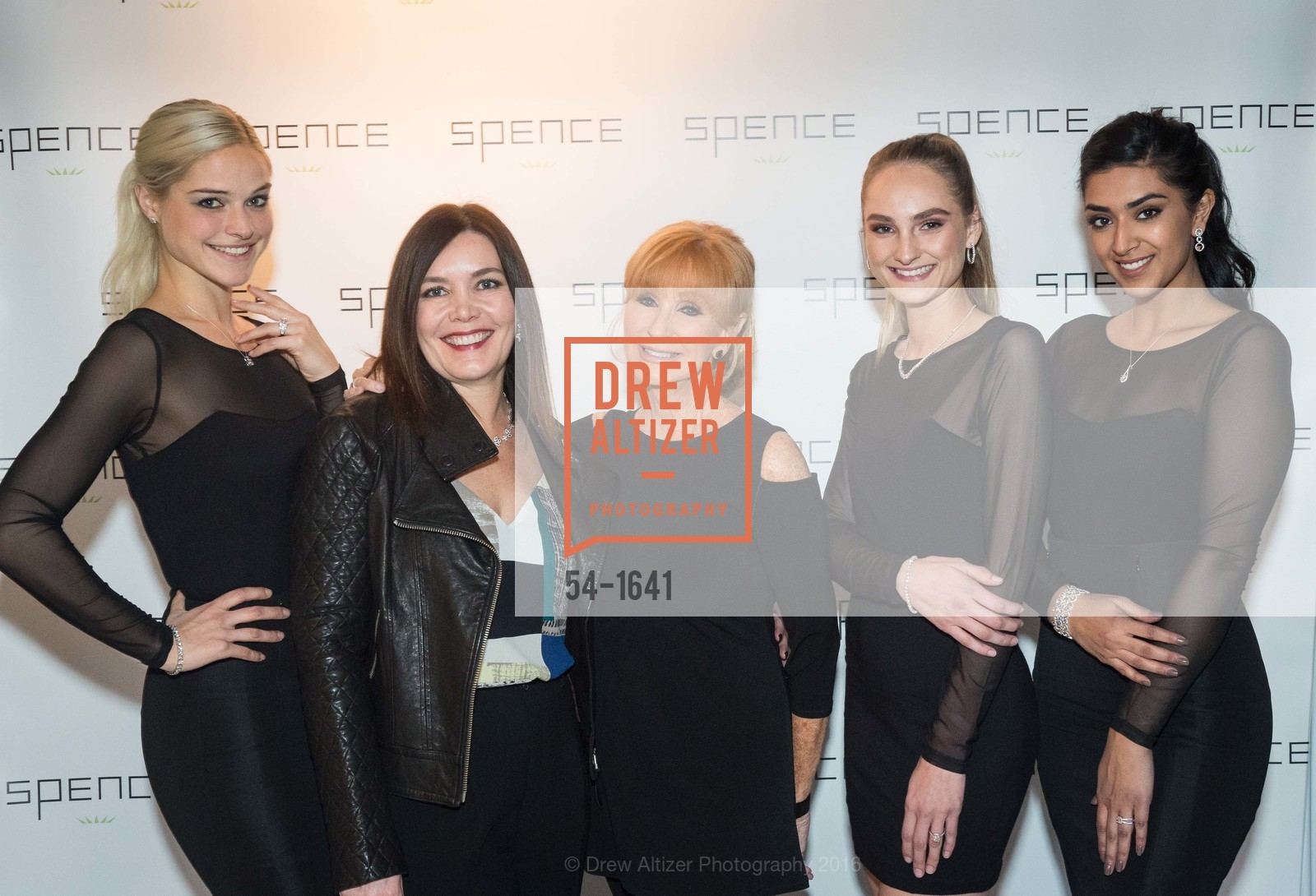 Jennifer Davis, Joanna Cocking, Deborah Zeiss, Kelsey Jackson, Jaskiran Kaur, Spence Diamonds Launch, Spence Diamonds. 333 Santana Row #1035, December 7th, 2016