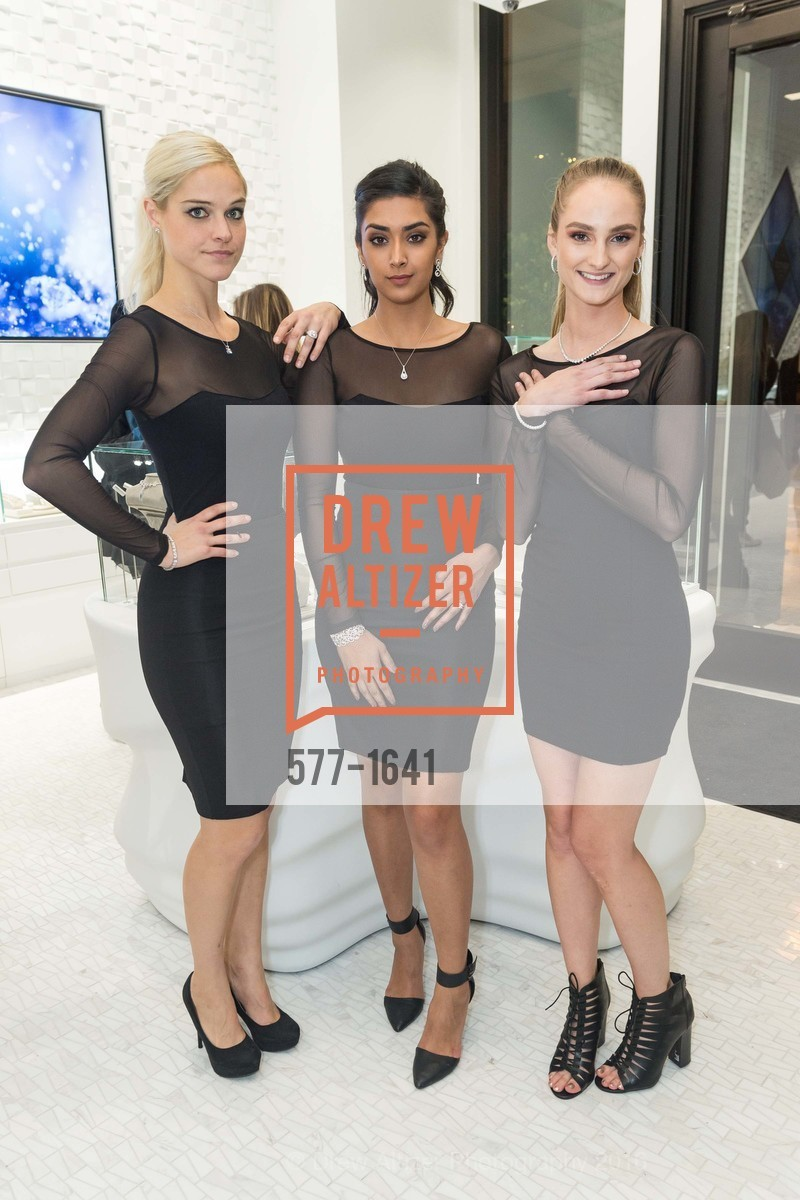 Jennifer Davis, Jarikan Kaur, Kelsey Jackson, Spence Diamonds Launch, Spence Diamonds. 333 Santana Row #1035, December 7th, 2016