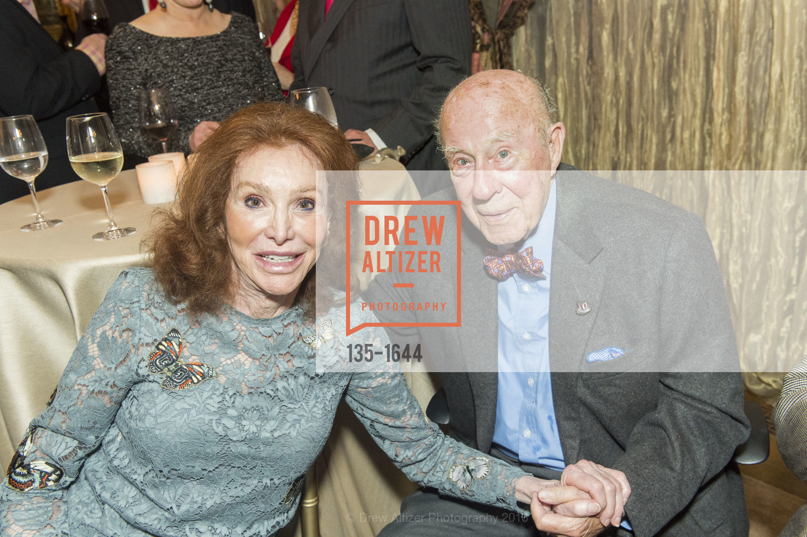 Ann Getty, George Shultz, Photo #135-1644