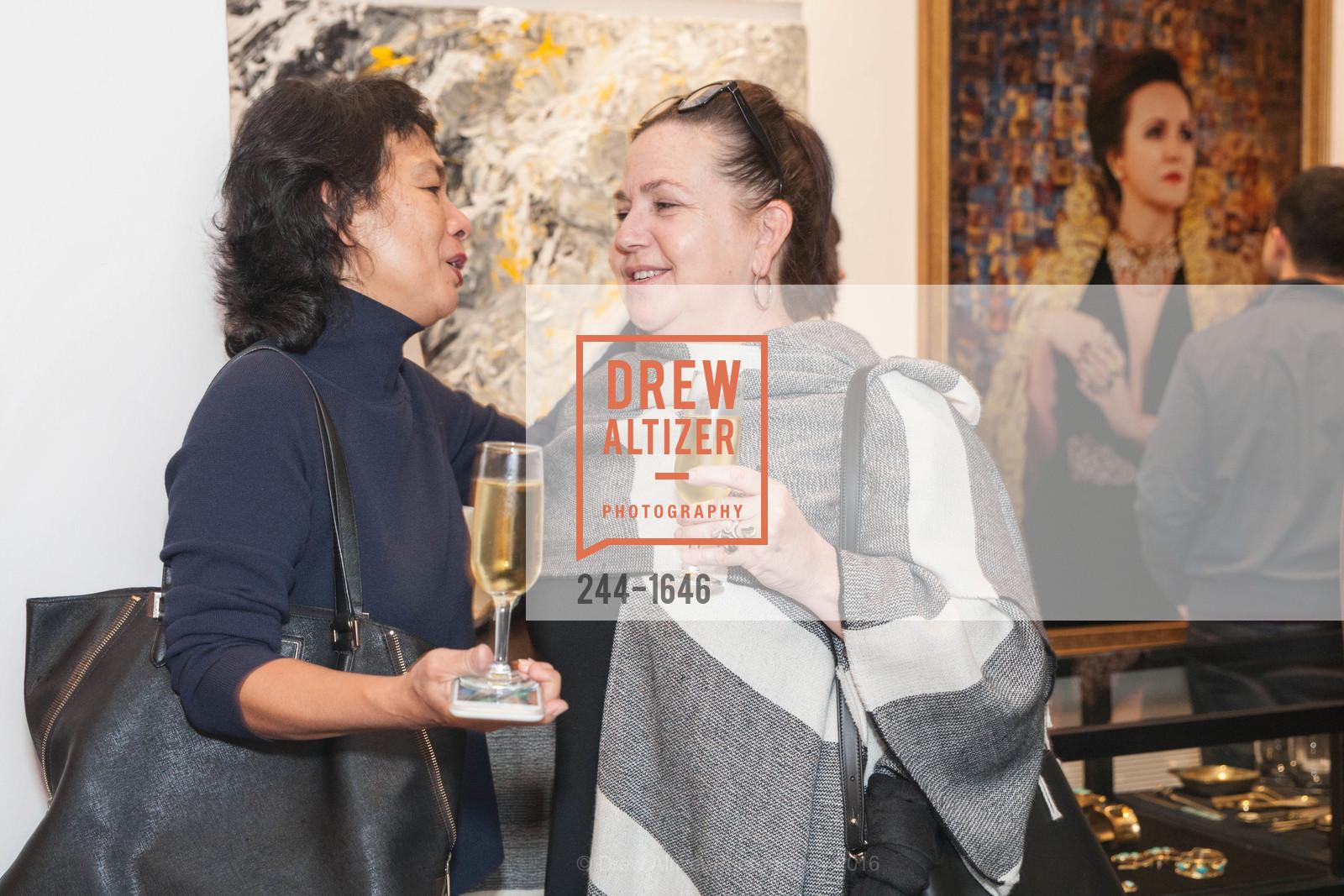Nancy Lam, Deniece Duscheone, Adeeni Design Galerie Opening, Adeeni Design Group. 664 Post Street, December 8th, 2016