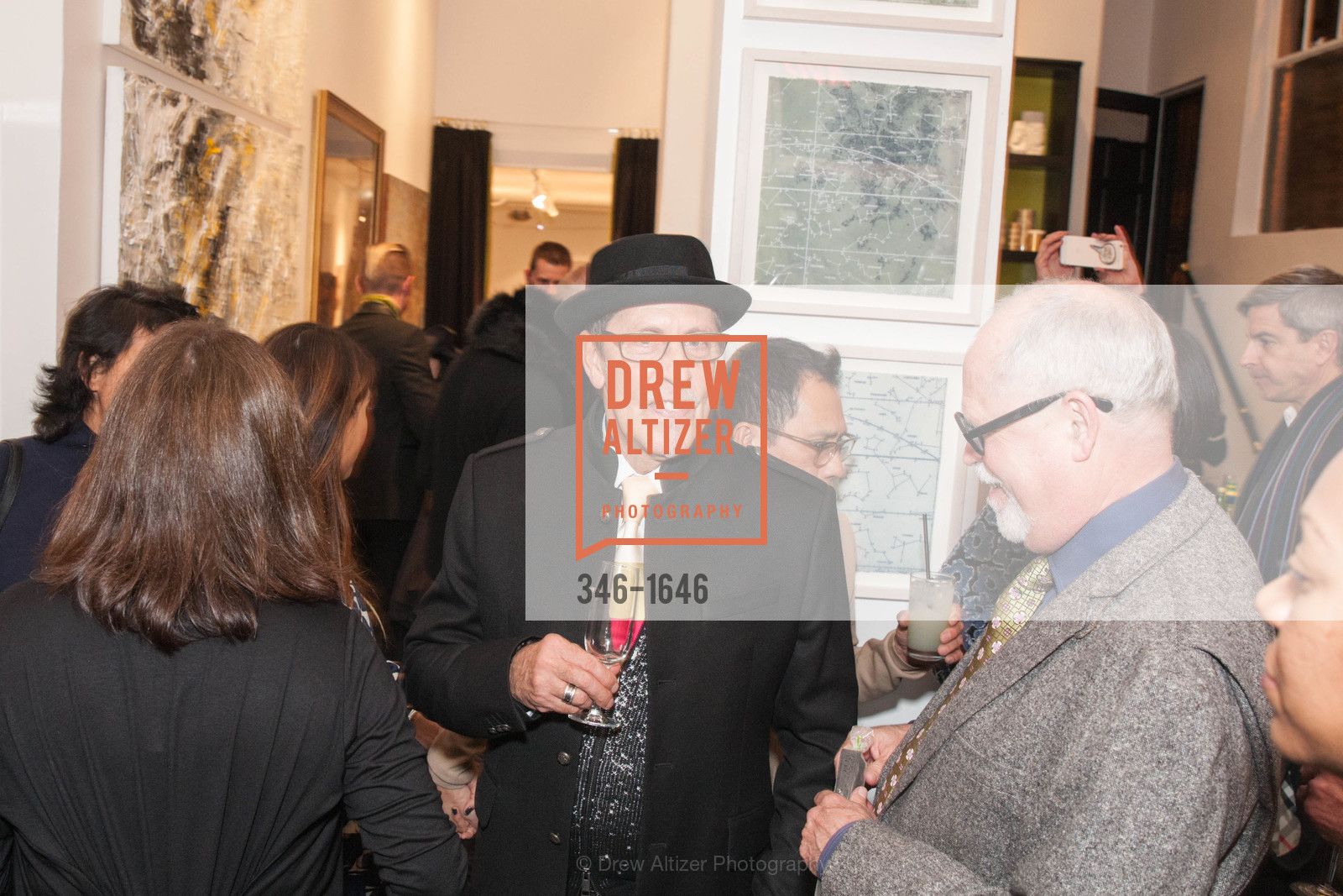 Atmosphere, Adeeni Design Galerie Opening, Adeeni Design Group. 664 Post Street, December 8th, 2016