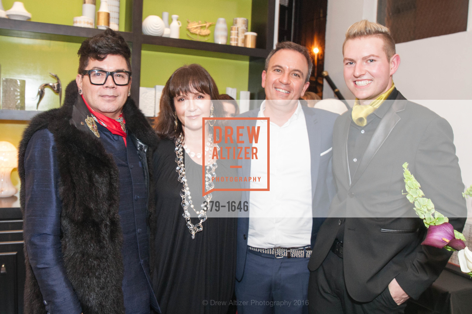 David Reposar, Claudia Juestel, Christopher Stark, Brice Stanek, Photo #379-1646
