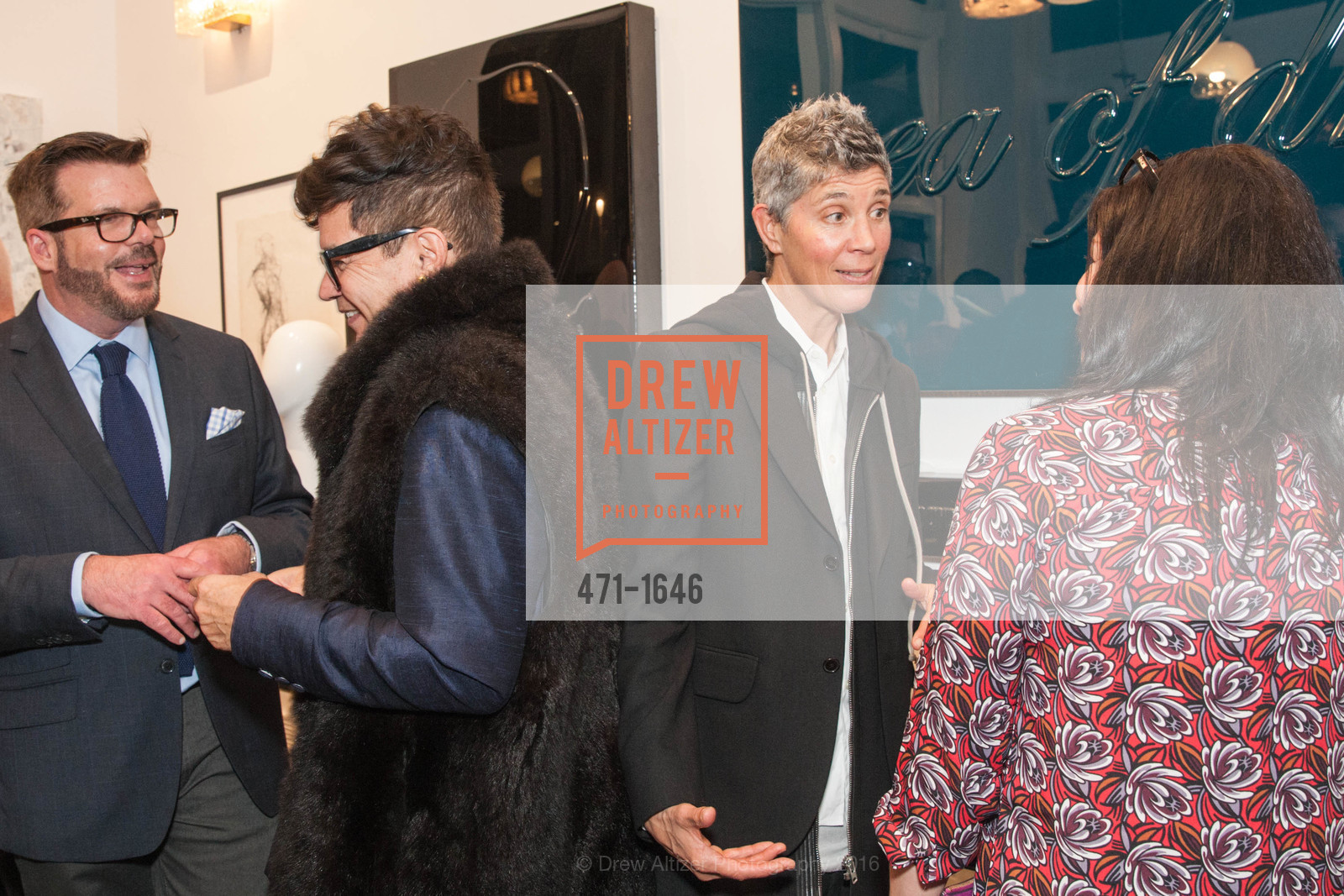 Philip Bewley, David Reposar, Lucky Rapp, Carrie Ann Plank, Adeeni Design Galerie Opening, Adeeni Design Group. 664 Post Street, December 8th, 2016