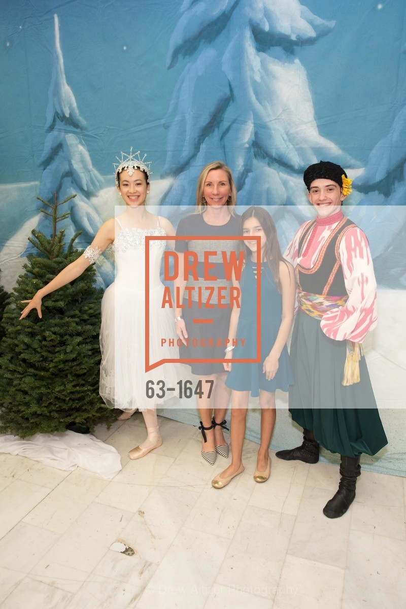 Kristin Chotai, Ava Chotai, SF Ballet's Nutcracker Luncheon, City Hall & War Memorial Opera House. 301 Van Ness Ave, San Francisco, CA 94109, December 11th, 2016
