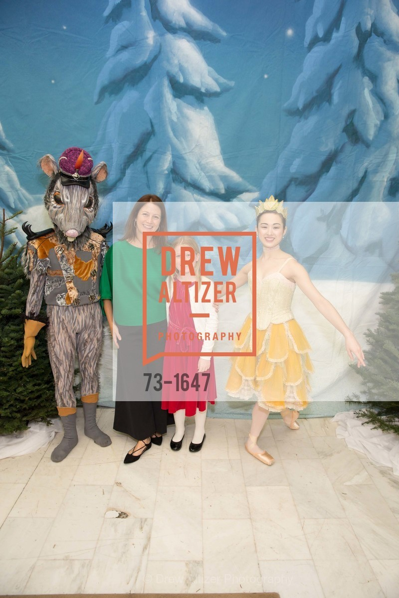 Lara Housser, Sophie Housser, SF Ballet's Nutcracker Luncheon, City Hall & War Memorial Opera House. 301 Van Ness Ave, San Francisco, CA 94109, December 11th, 2016