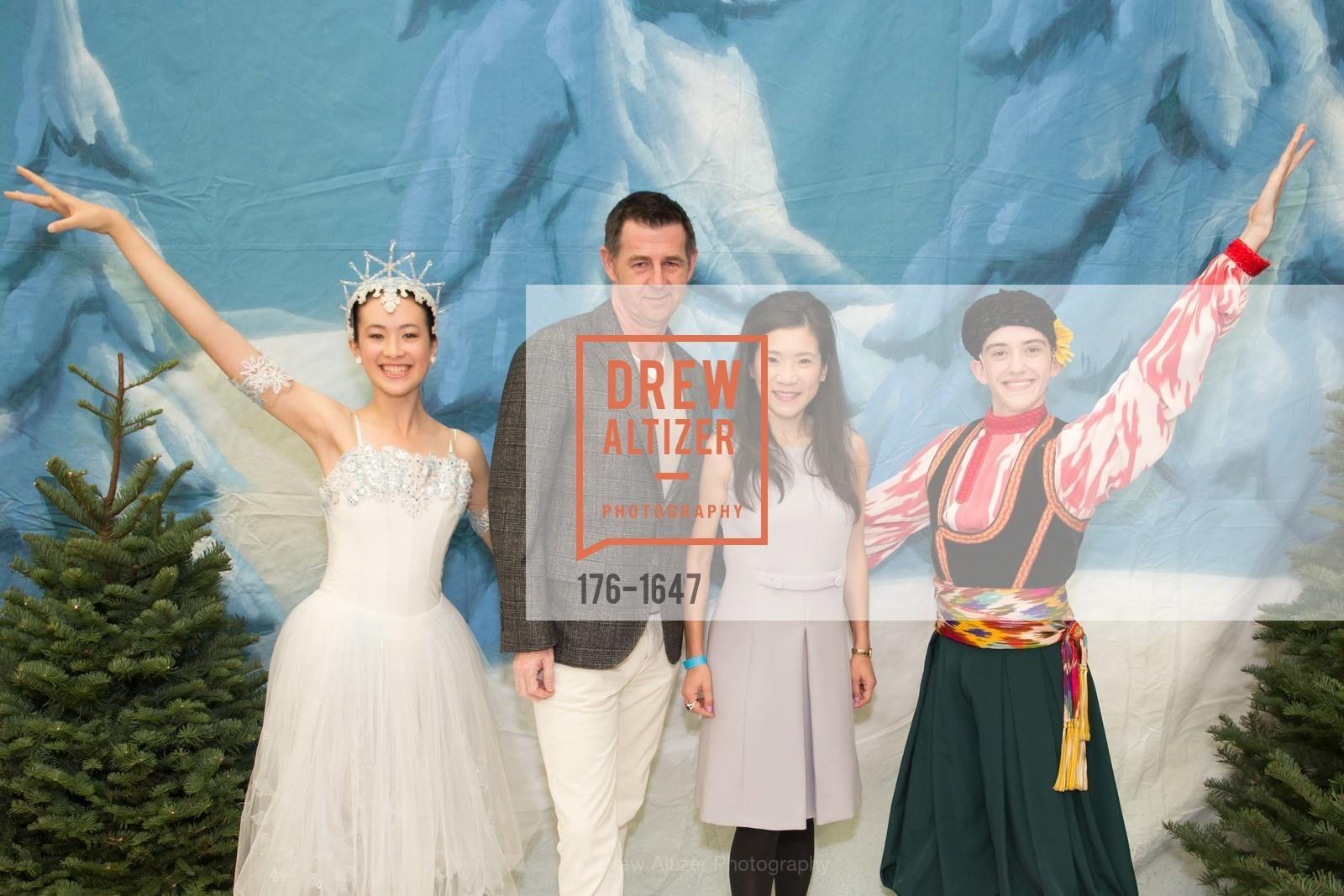 Jeffrey Weber, Priscilla Weber, SF Ballet's Nutcracker Luncheon, City Hall & War Memorial Opera House. 301 Van Ness Ave, San Francisco, CA 94109, December 11th, 2016