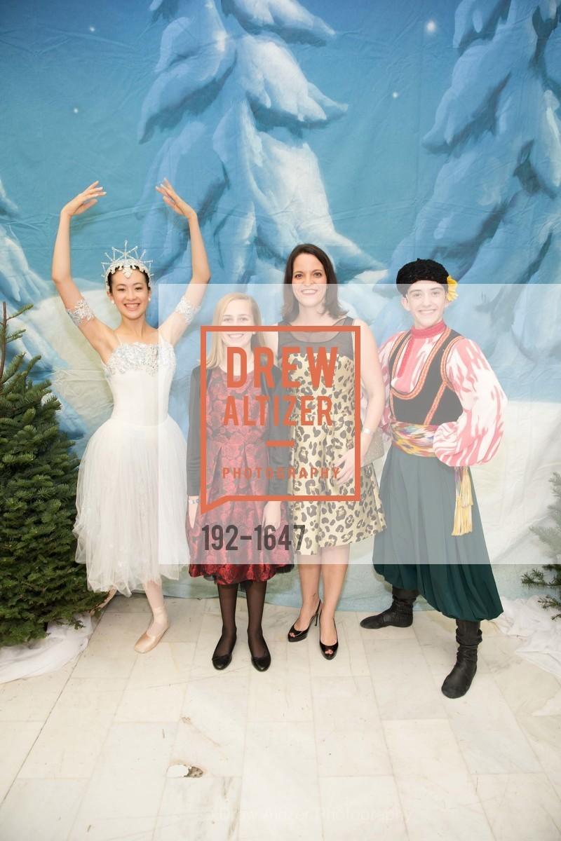 Dylan Kayser, Mary Ann Kayser, SF Ballet's Nutcracker Luncheon, City Hall & War Memorial Opera House. 301 Van Ness Ave, San Francisco, CA 94109, December 11th, 2016
