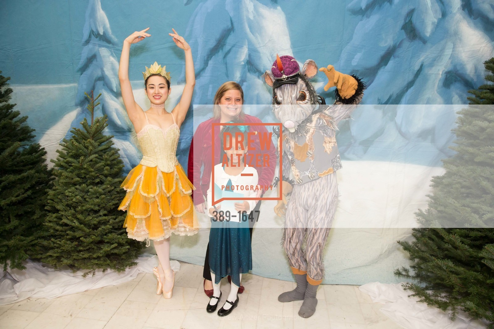 Ava Jerry, Amy Jerry, SF Ballet's Nutcracker Luncheon, City Hall & War Memorial Opera House. 301 Van Ness Ave, San Francisco, CA 94109, December 11th, 2016