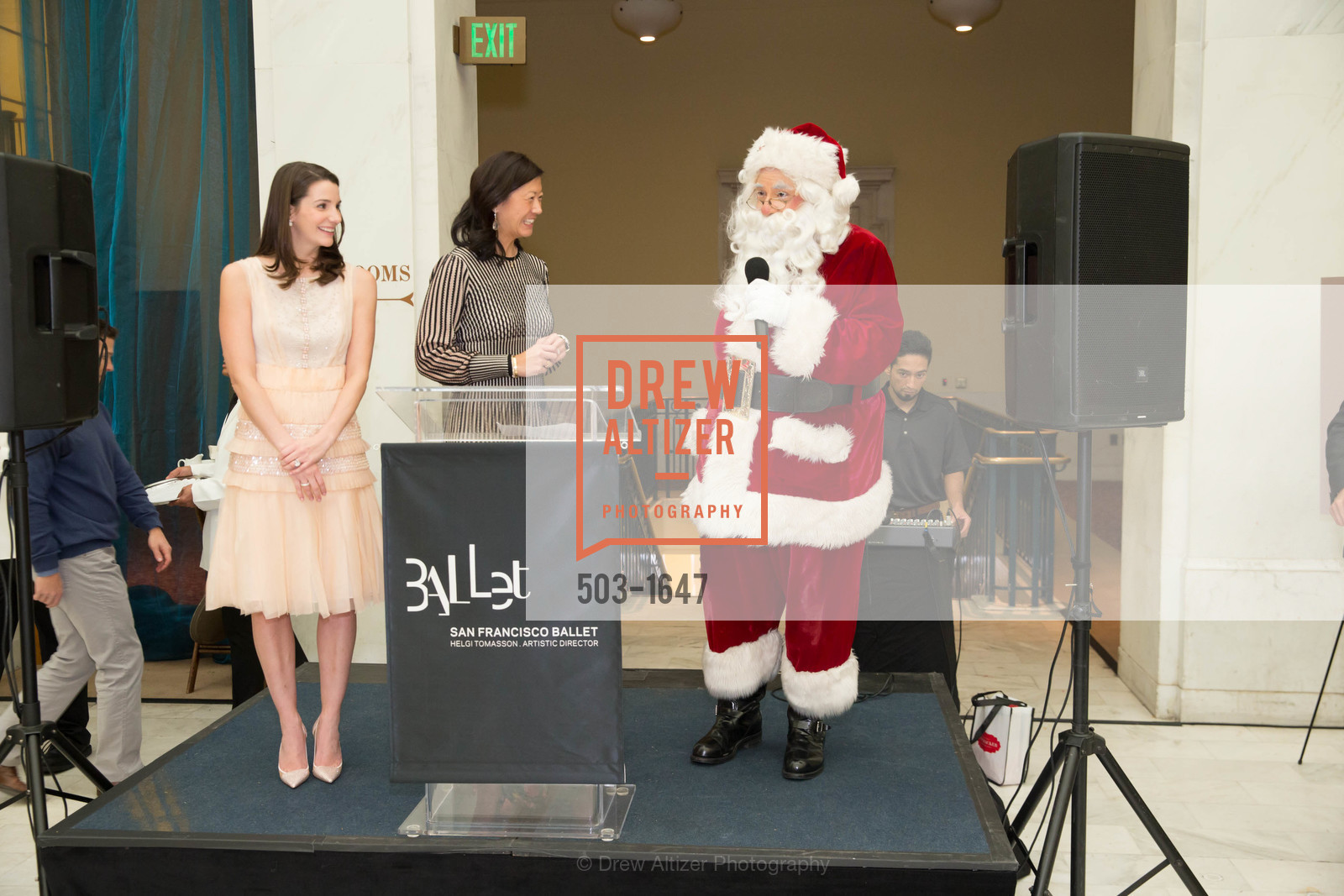 Kelsey Lamond, Christine Leong Connors, SF Ballet's Nutcracker Luncheon, City Hall & War Memorial Opera House. 301 Van Ness Ave, San Francisco, CA 94109, December 11th, 2016