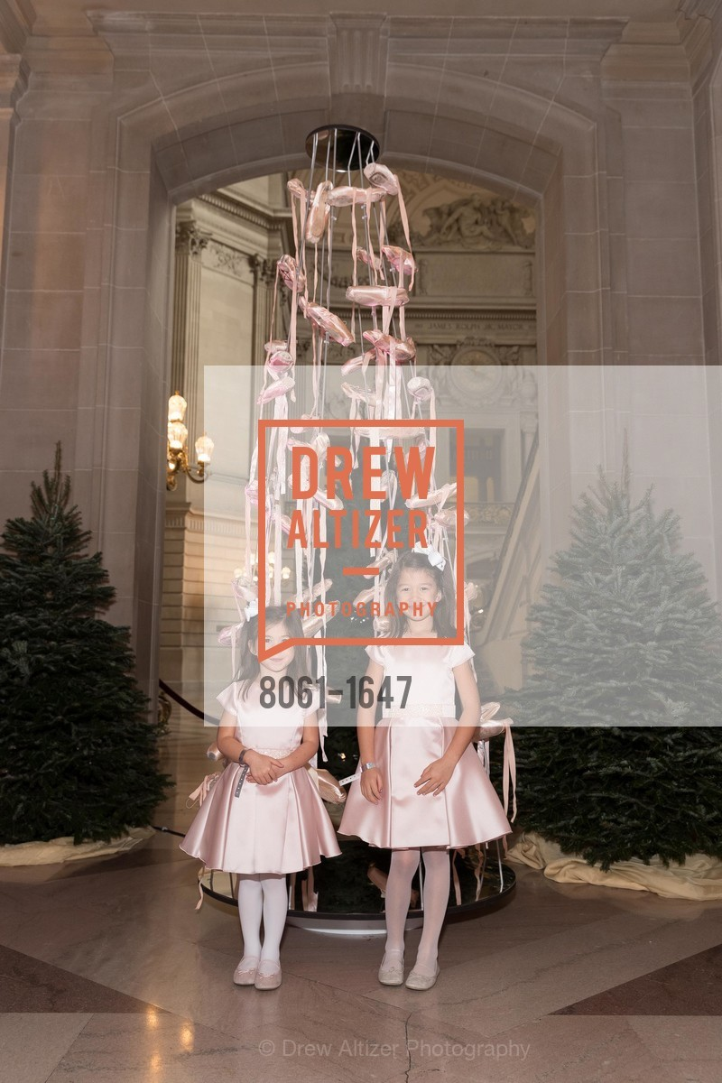 Charlotte Leong Connors, Caroline Leong Connors, SF Ballet's Nutcracker Luncheon, City Hall & War Memorial Opera House. 301 Van Ness Ave, San Francisco, CA 94109, December 11th, 2016