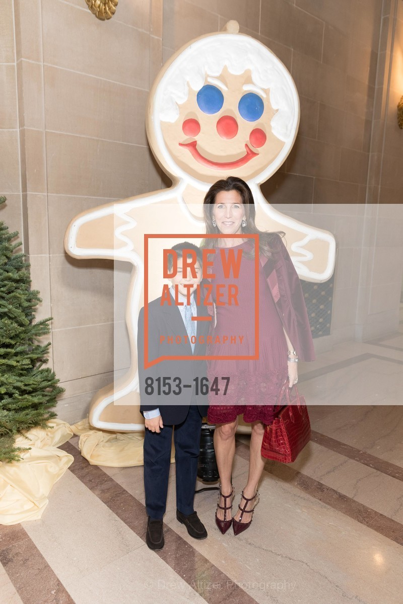 Lyle Barnett, Sloan Barnett, SF Ballet's Nutcracker Luncheon, City Hall & War Memorial Opera House. 301 Van Ness Ave, San Francisco, CA 94109, December 11th, 2016
