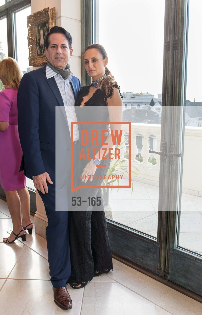 Giovanni Mattera, Sabrina Baldieri, Opera Ball 2015 Benefactor Party Hosted By Diane Wilsey, Private residence, June 16th, 2015,Drew Altizer, Drew Altizer Photography, full-service agency, private events, San Francisco photographer, photographer california