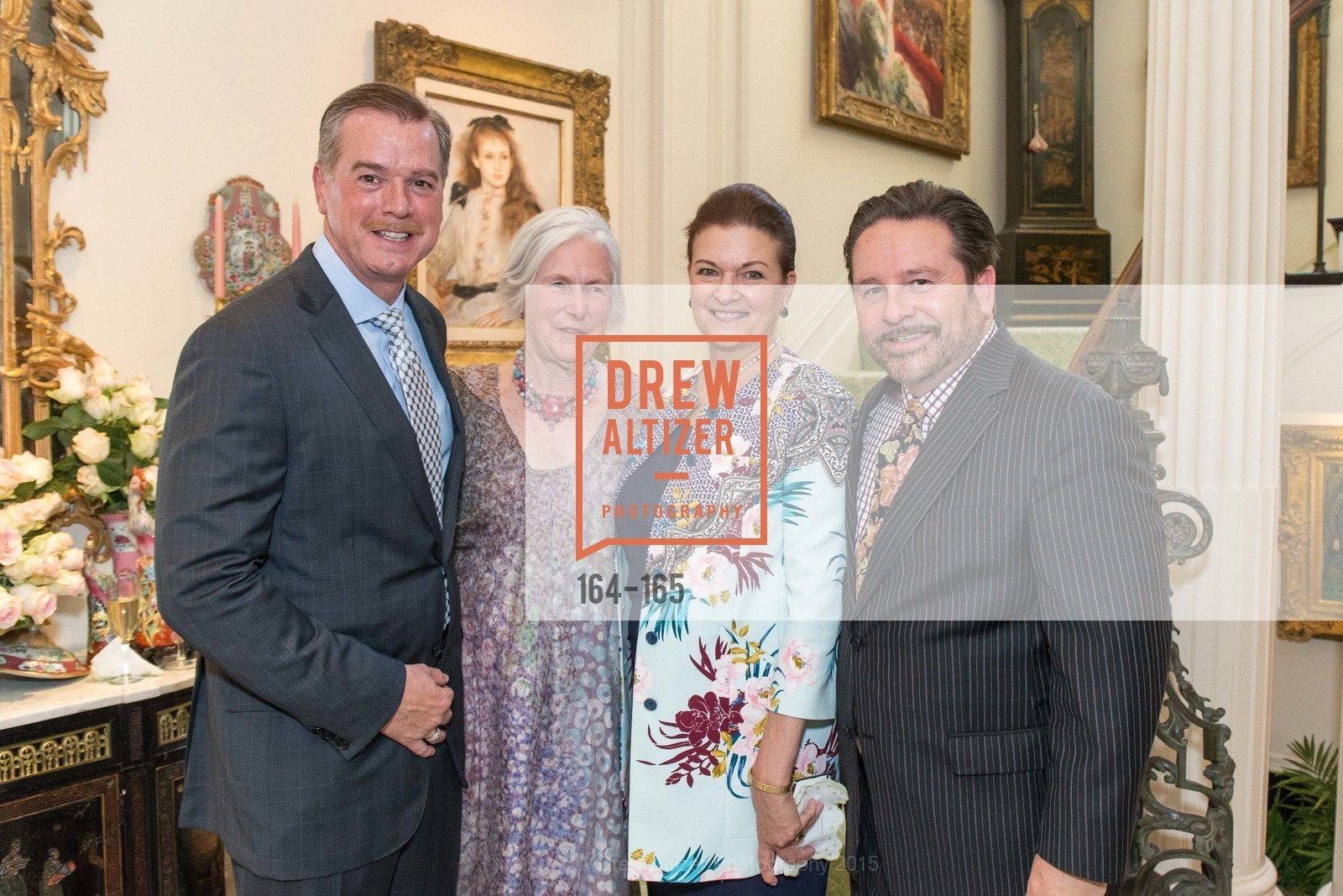 Randy Reynoso, Jane Hartley, Susan Malott, Martin Camsey, Opera Ball 2015 Benefactor Party Hosted By Diane Wilsey, Private residence, June 16th, 2015,Drew Altizer, Drew Altizer Photography, full-service agency, private events, San Francisco photographer, photographer california