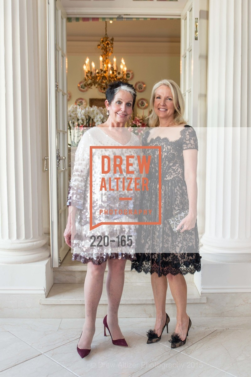Karen Kubin, Ann Girard, Opera Ball 2015 Benefactor Party Hosted By Diane Wilsey, Private residence, June 16th, 2015,Drew Altizer, Drew Altizer Photography, full-service agency, private events, San Francisco photographer, photographer california