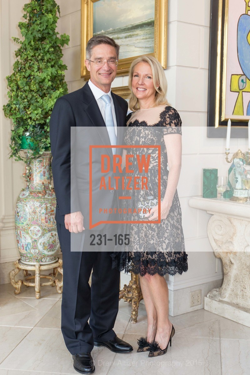 Daniel Girard, Ann Girard, Opera Ball 2015 Benefactor Party Hosted By Diane Wilsey, Private residence, June 16th, 2015,Drew Altizer, Drew Altizer Photography, full-service agency, private events, San Francisco photographer, photographer california