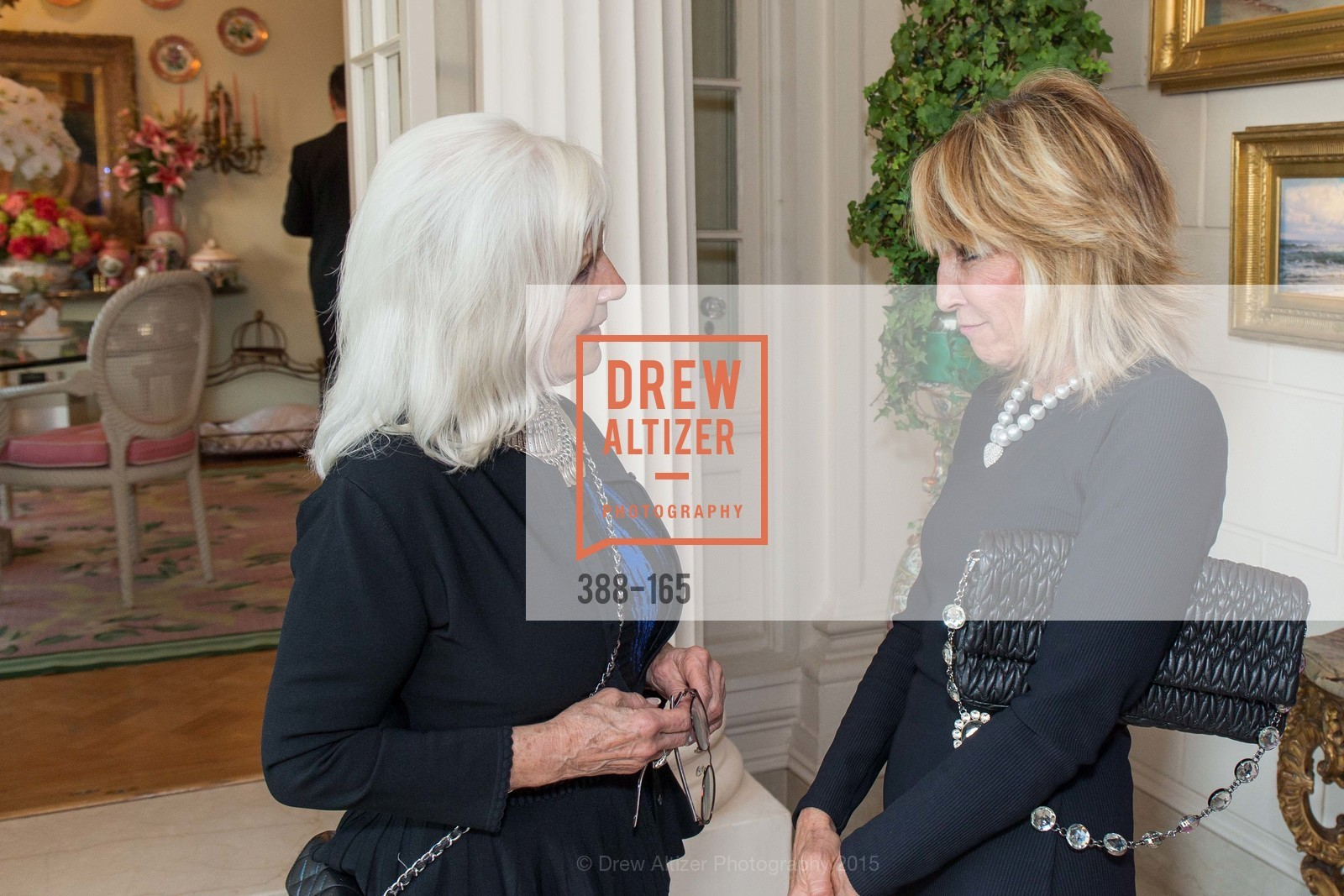 Arlene Inch, Sandy Mandel, Opera Ball 2015 Benefactor Party Hosted By Diane Wilsey, Private residence, June 16th, 2015,Drew Altizer, Drew Altizer Photography, full-service agency, private events, San Francisco photographer, photographer california
