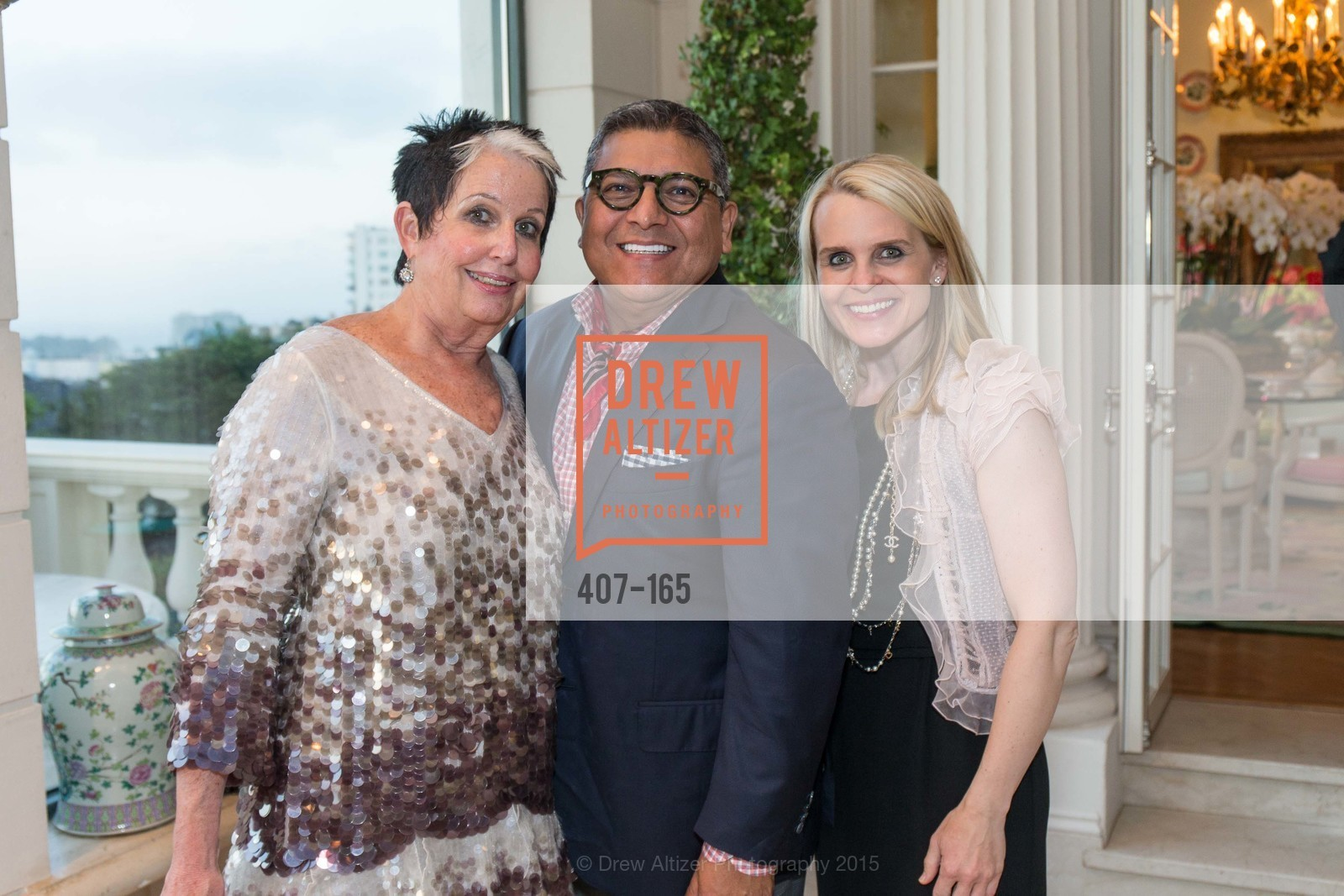 Karen Kubin, Riccardo Benavides, Jane Mudge, Opera Ball 2015 Benefactor Party Hosted By Diane Wilsey, Private residence, June 16th, 2015,Drew Altizer, Drew Altizer Photography, full-service agency, private events, San Francisco photographer, photographer california