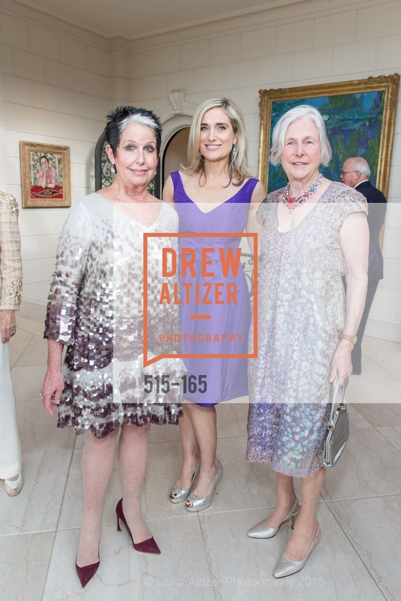 Karen Kubin, Renata Anderson, Jane Hartley, Opera Ball 2015 Benefactor Party Hosted By Diane Wilsey, Private residence, June 16th, 2015,Drew Altizer, Drew Altizer Photography, full-service agency, private events, San Francisco photographer, photographer california