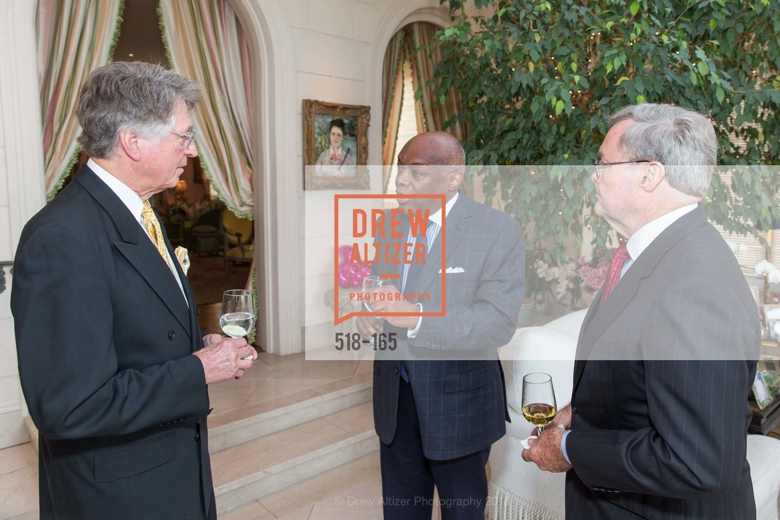 Leon Huntting, Willie Brown, Opera Ball 2015 Benefactor Party Hosted By Diane Wilsey, Private residence, June 16th, 2015,Drew Altizer, Drew Altizer Photography, full-service agency, private events, San Francisco photographer, photographer california