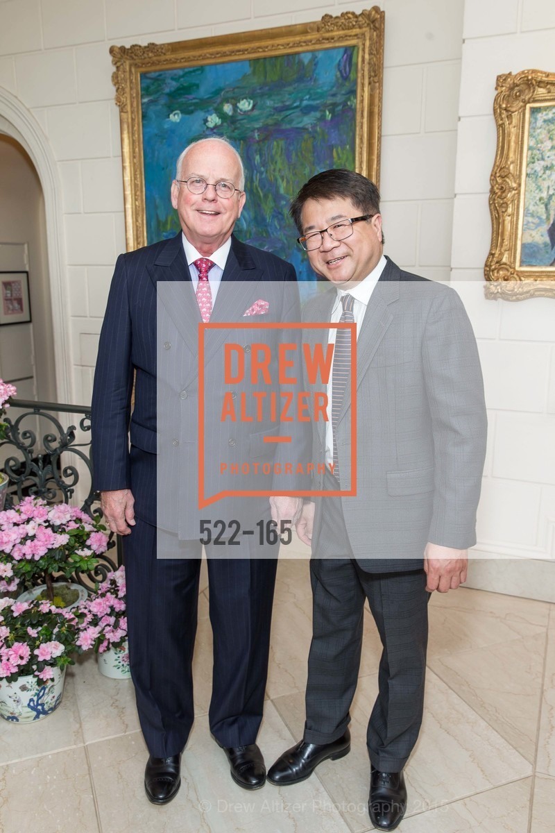 Larry Kern, William Wong, Opera Ball 2015 Benefactor Party Hosted By Diane Wilsey, Private residence, June 16th, 2015,Drew Altizer, Drew Altizer Photography, full-service event agency, private events, San Francisco photographer, photographer California