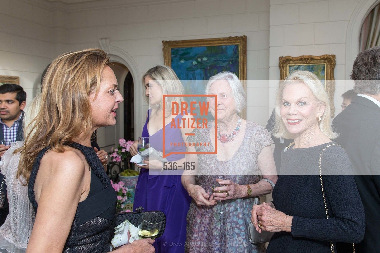 Charlot Malin, Jane Hartley, Cynthia Schreuder, Opera Ball 2015 Benefactor Party Hosted By Diane Wilsey, Private residence, June 16th, 2015,Drew Altizer, Drew Altizer Photography, full-service agency, private events, San Francisco photographer, photographer california