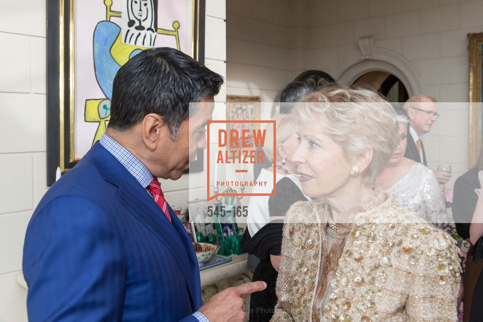 Daniel Diaz, Barbara Brookins-schneider, Opera Ball 2015 Benefactor Party Hosted By Diane Wilsey, Private residence, June 16th, 2015,Drew Altizer, Drew Altizer Photography, full-service agency, private events, San Francisco photographer, photographer california