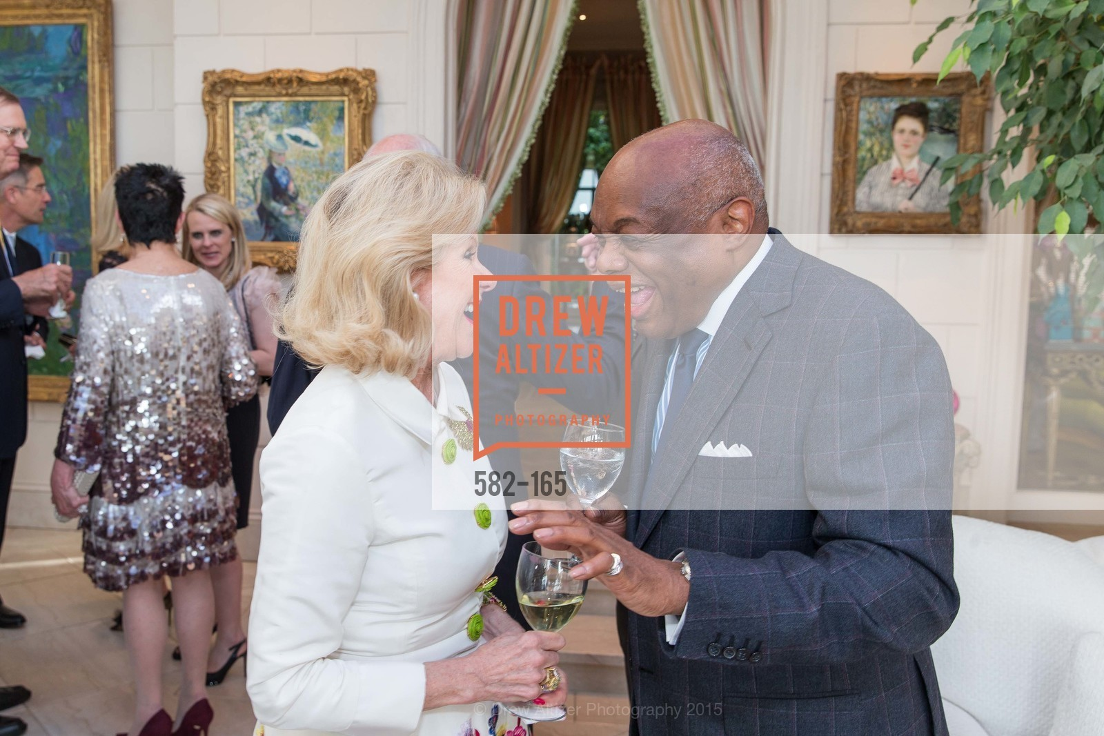 Dede Wilsey, Willie Brown, Opera Ball 2015 Benefactor Party Hosted By Diane Wilsey, Private residence, June 16th, 2015,Drew Altizer, Drew Altizer Photography, full-service agency, private events, San Francisco photographer, photographer california