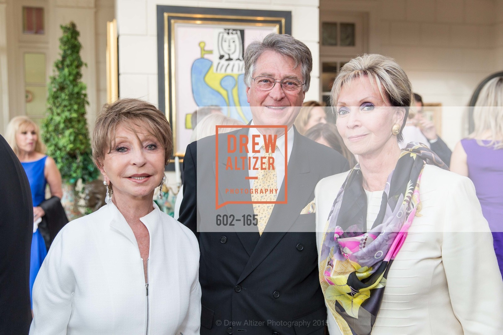 Roberta Sherman, Leon Huntting, Sallie Huntting, Opera Ball 2015 Benefactor Party Hosted By Diane Wilsey, Private residence, June 16th, 2015,Drew Altizer, Drew Altizer Photography, full-service agency, private events, San Francisco photographer, photographer california