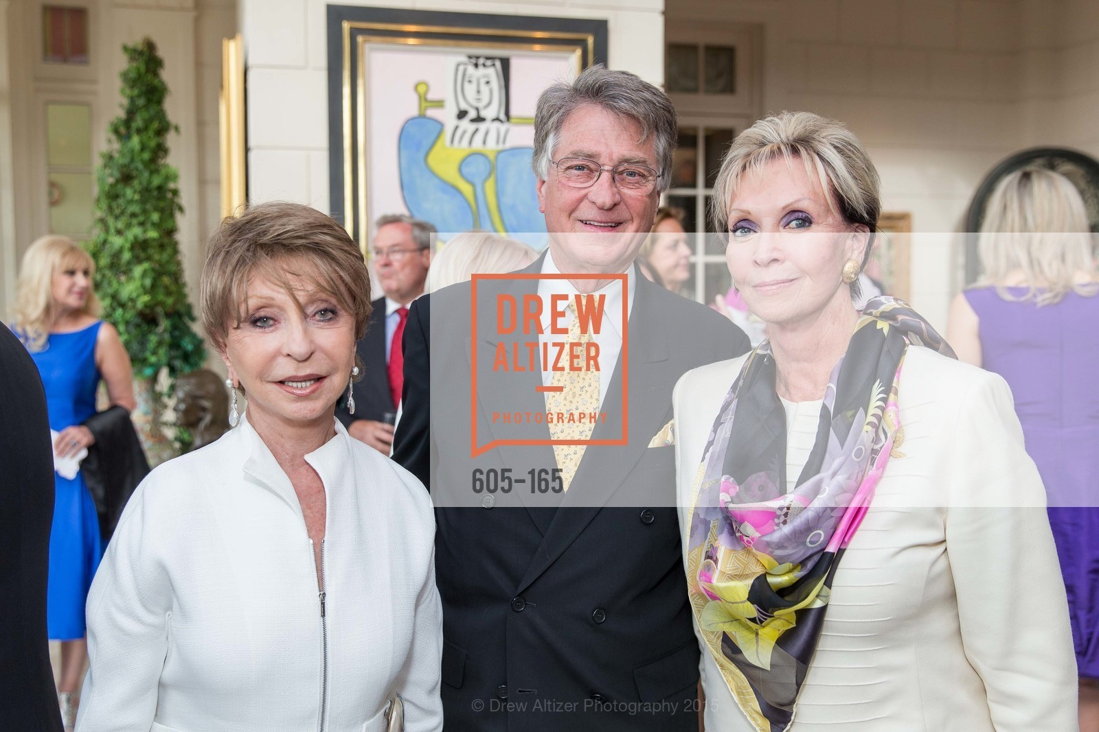 Roberta Sherman, Leon Huntting, Sallie Huntting, Opera Ball 2015 Benefactor Party Hosted By Diane Wilsey, Private residence, June 16th, 2015,Drew Altizer, Drew Altizer Photography, full-service event agency, private events, San Francisco photographer, photographer California